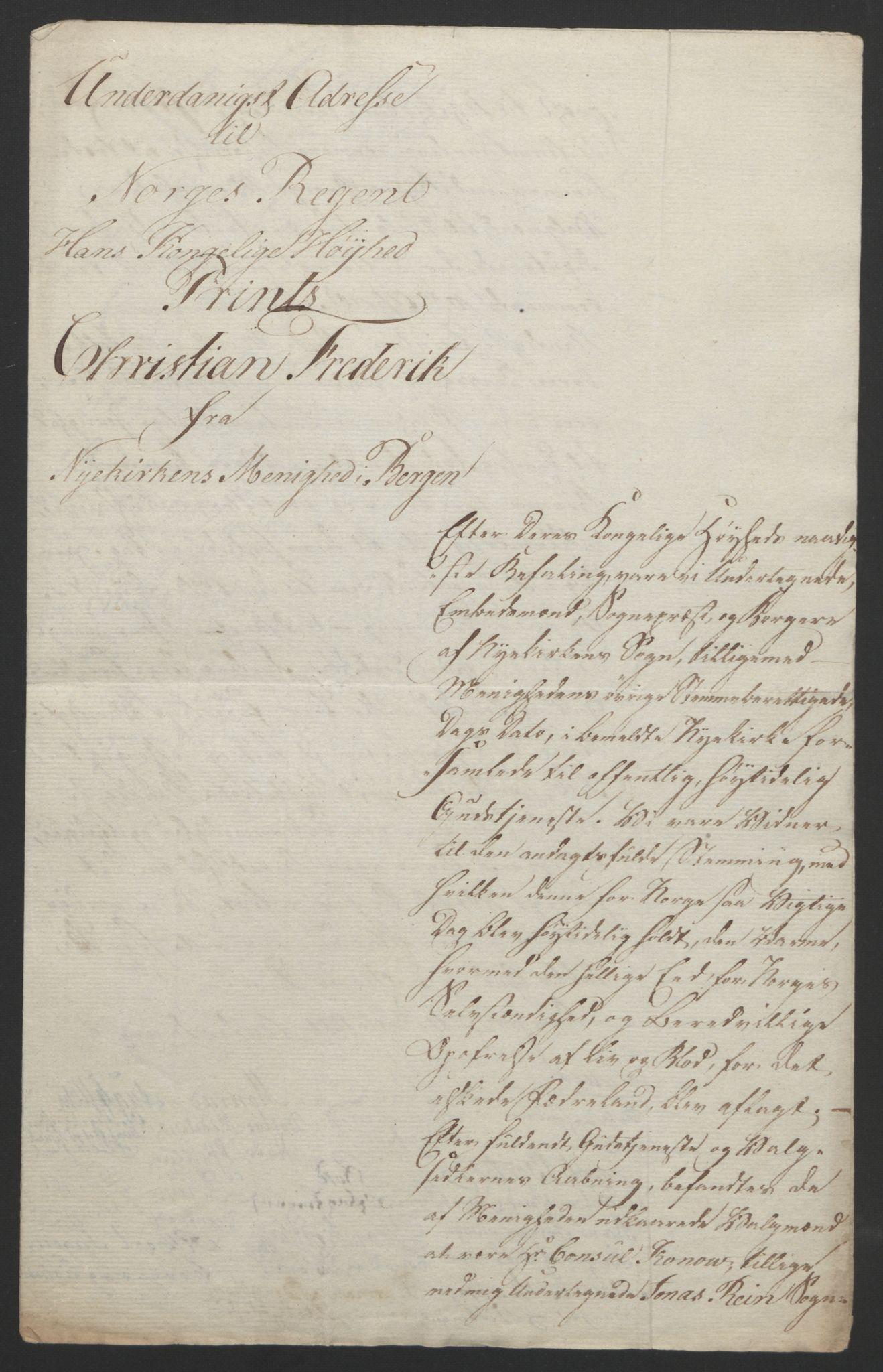 RA, Statsrådssekretariatet, D/Db/L0007: Fullmakter for Eidsvollsrepresentantene i 1814. , 1814, s. 52