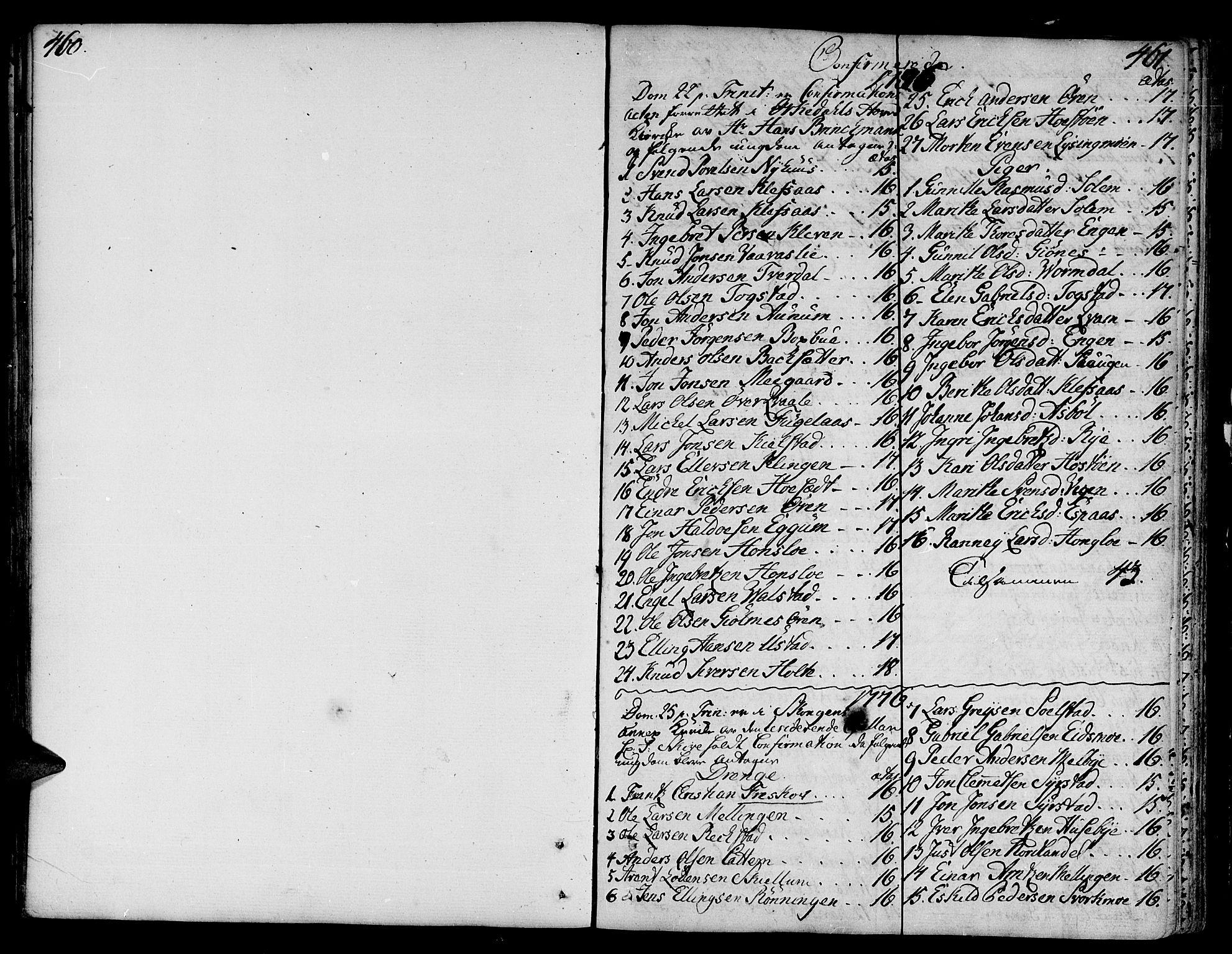 SAT, Ministerialprotokoller, klokkerbøker og fødselsregistre - Sør-Trøndelag, 668/L0802: Ministerialbok nr. 668A02, 1776-1799, s. 460-461