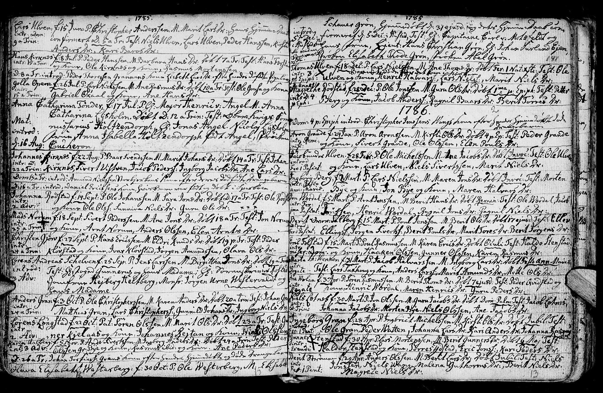 SAT, Ministerialprotokoller, klokkerbøker og fødselsregistre - Nord-Trøndelag, 730/L0273: Ministerialbok nr. 730A02, 1762-1802, s. 141