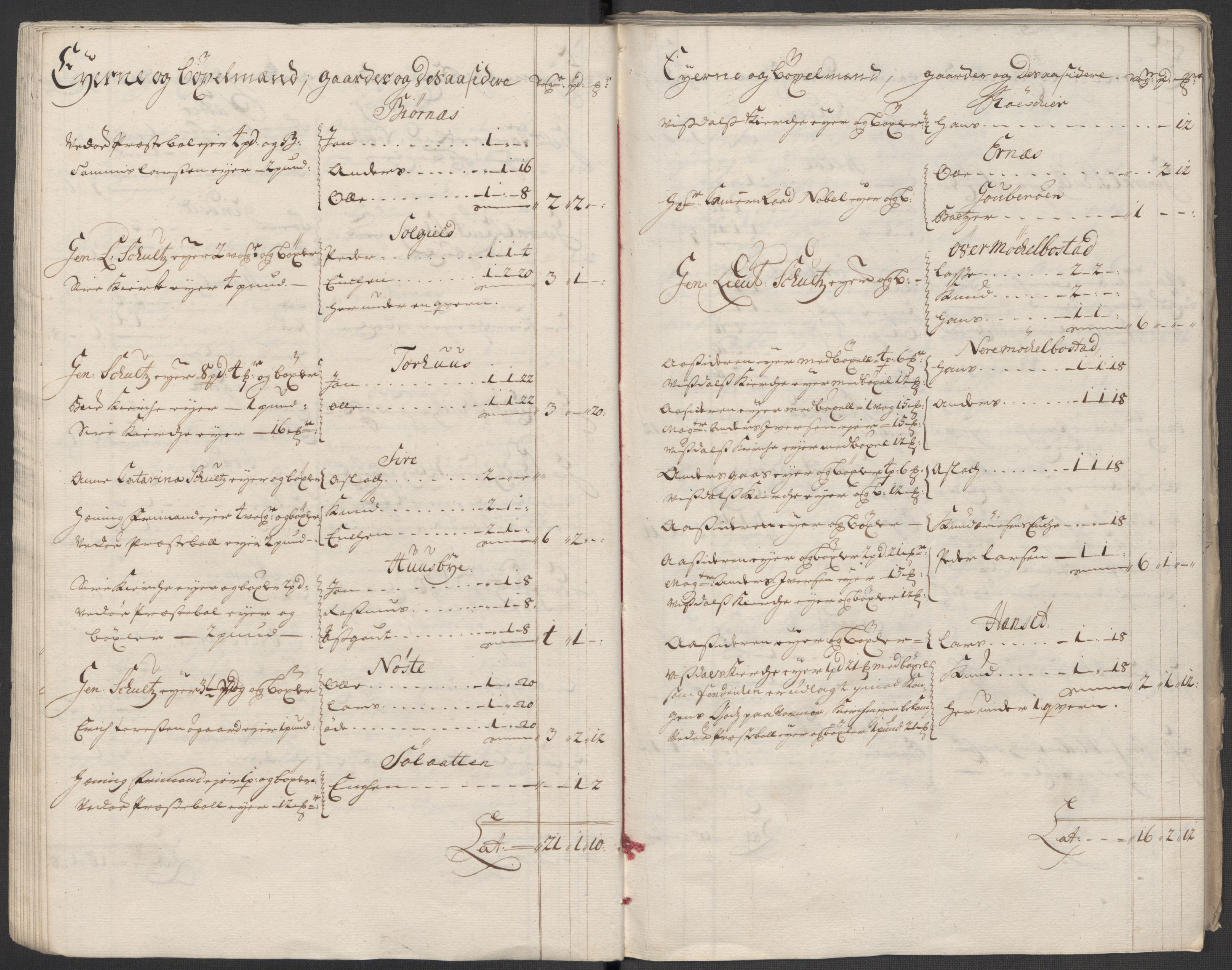 RA, Rentekammeret inntil 1814, Reviderte regnskaper, Fogderegnskap, R55/L3664: Fogderegnskap Romsdal, 1717, s. 31