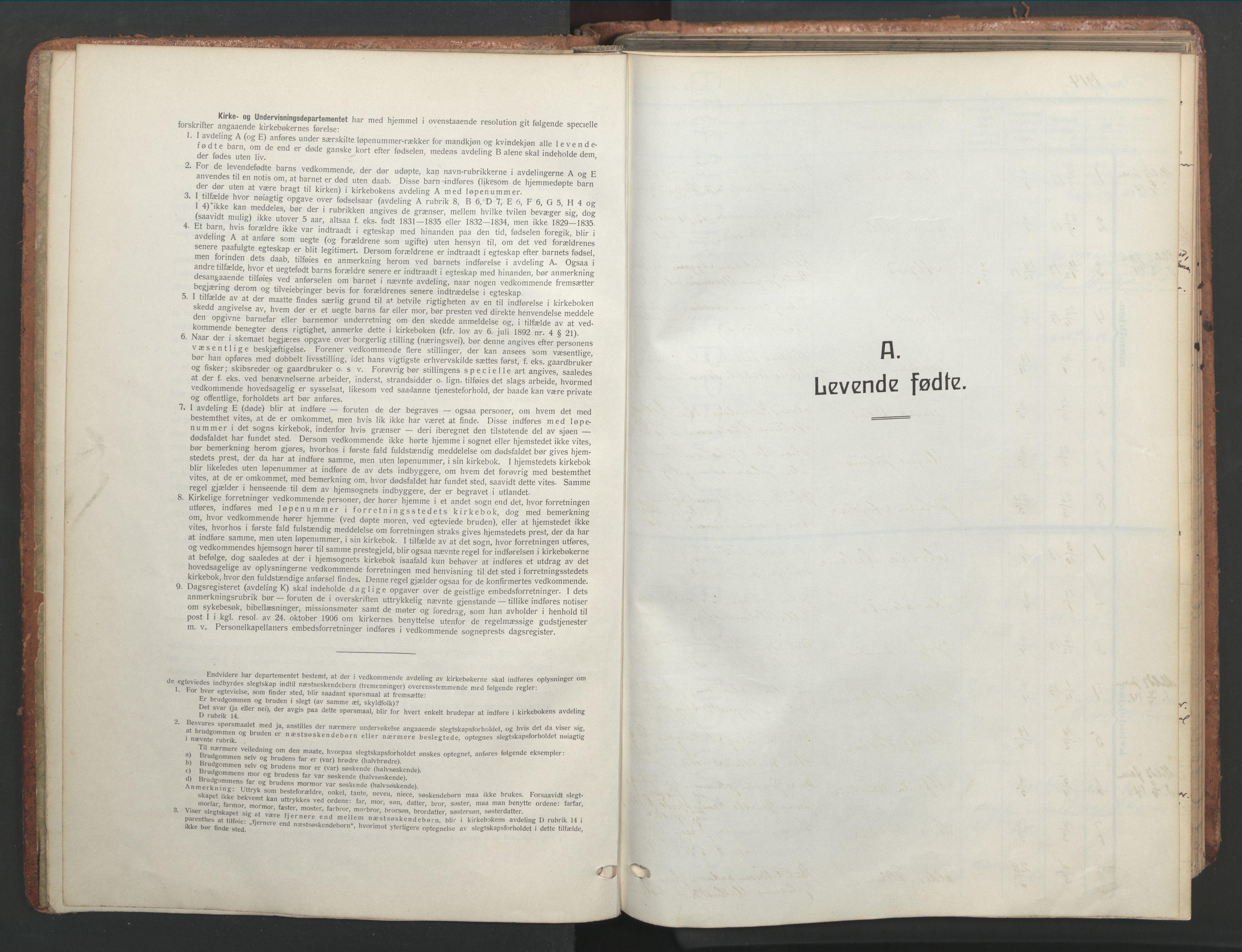 SAT, Ministerialprotokoller, klokkerbøker og fødselsregistre - Sør-Trøndelag, 656/L0694: Ministerialbok nr. 656A03, 1914-1931
