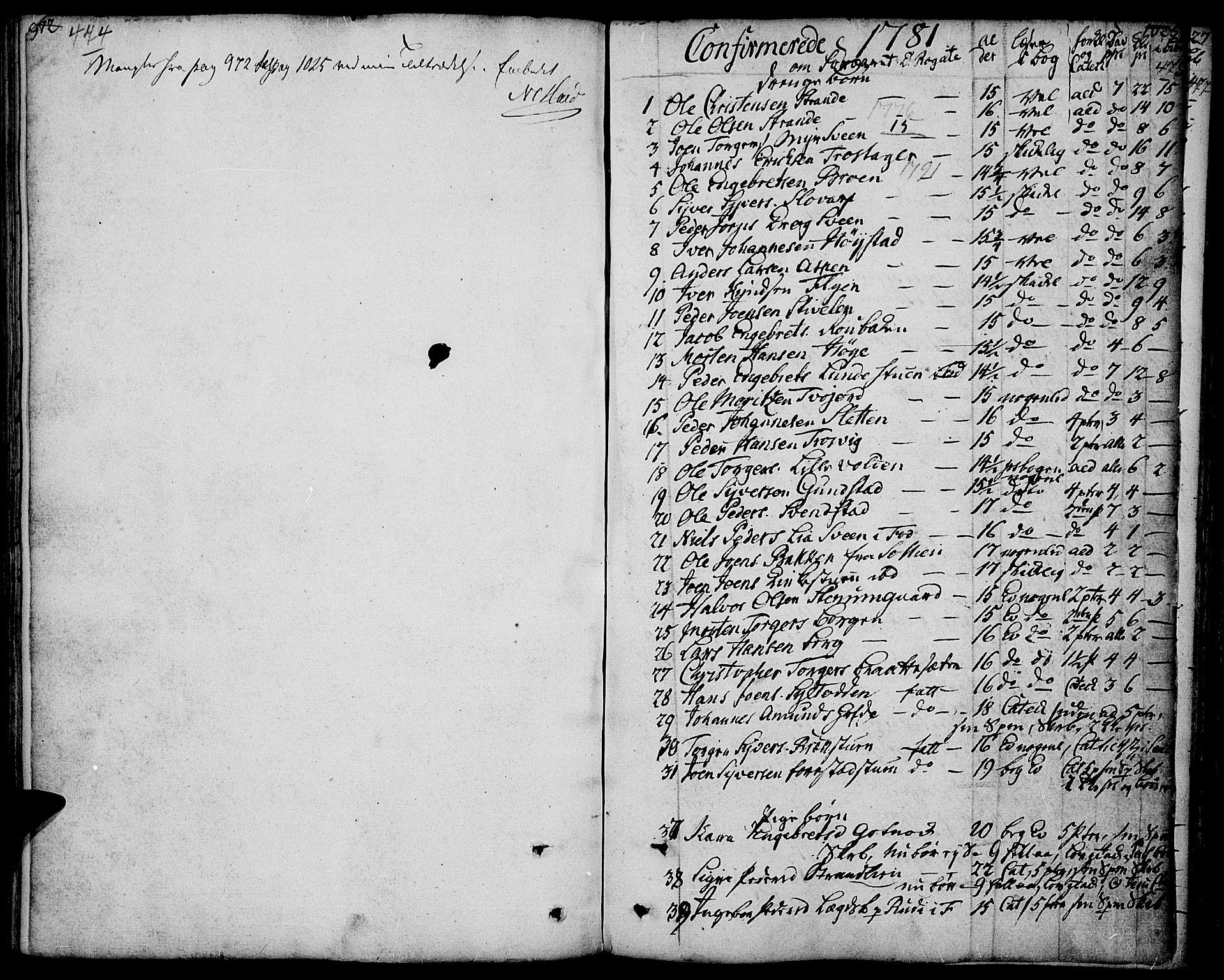 SAH, Ringebu prestekontor, Ministerialbok nr. 3, 1781-1820, s. 474-475