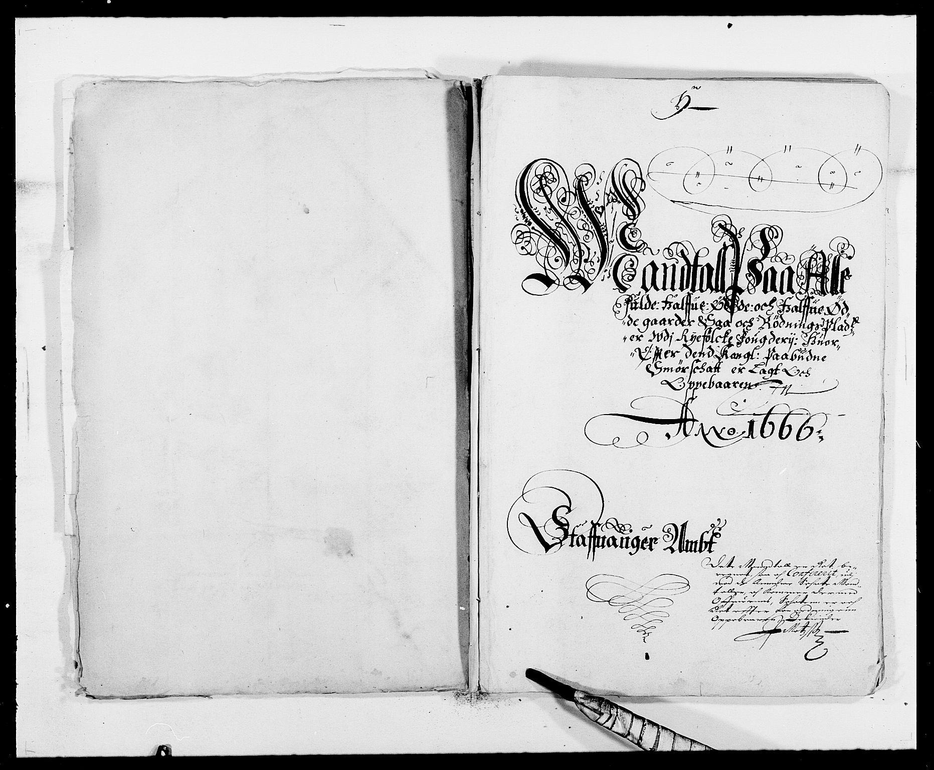 RA, Rentekammeret inntil 1814, Reviderte regnskaper, Fogderegnskap, R47/L2842: Fogderegnskap Ryfylke, 1665-1669, s. 168