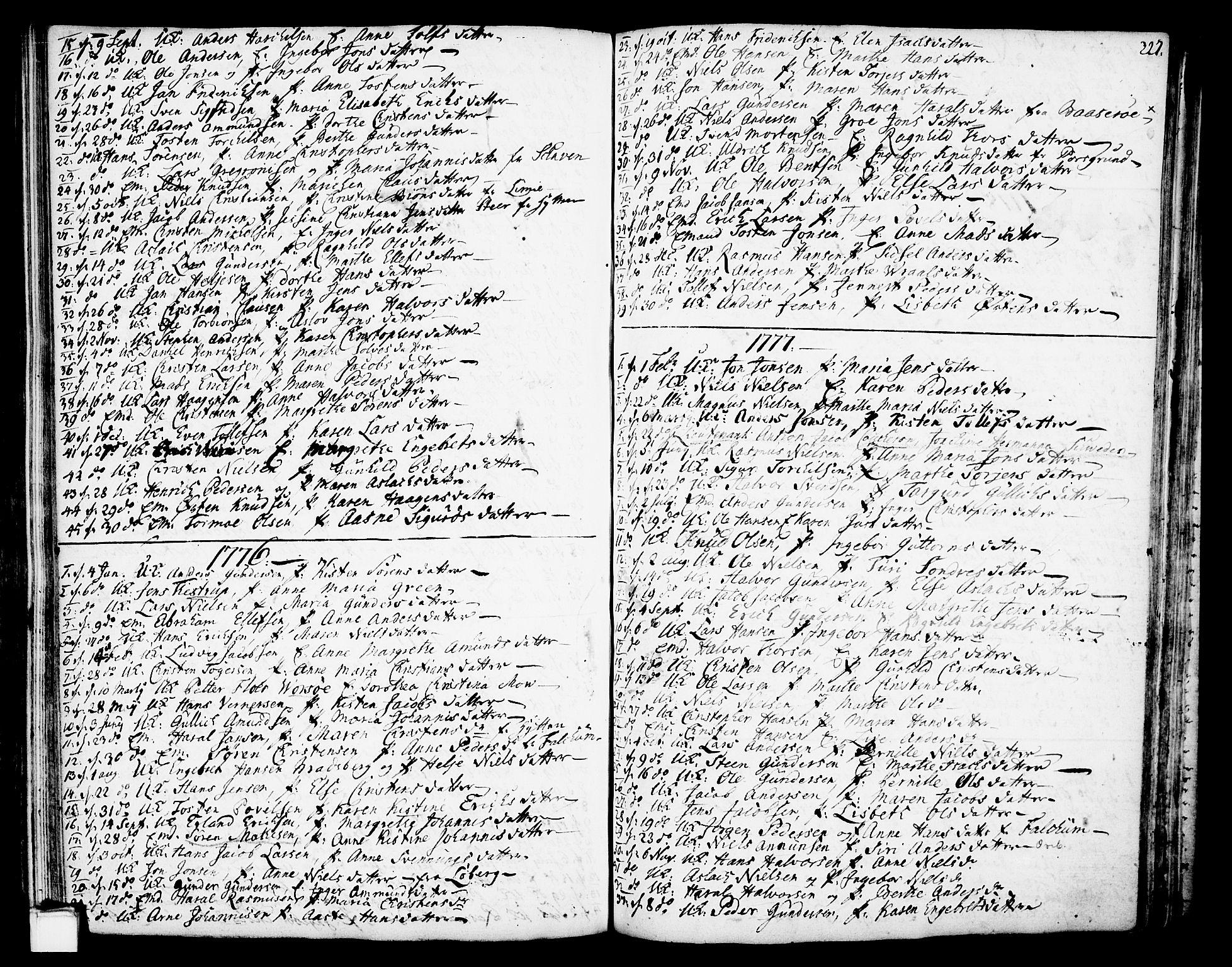 SAKO, Gjerpen kirkebøker, F/Fa/L0002: Ministerialbok nr. 2, 1747-1795, s. 227