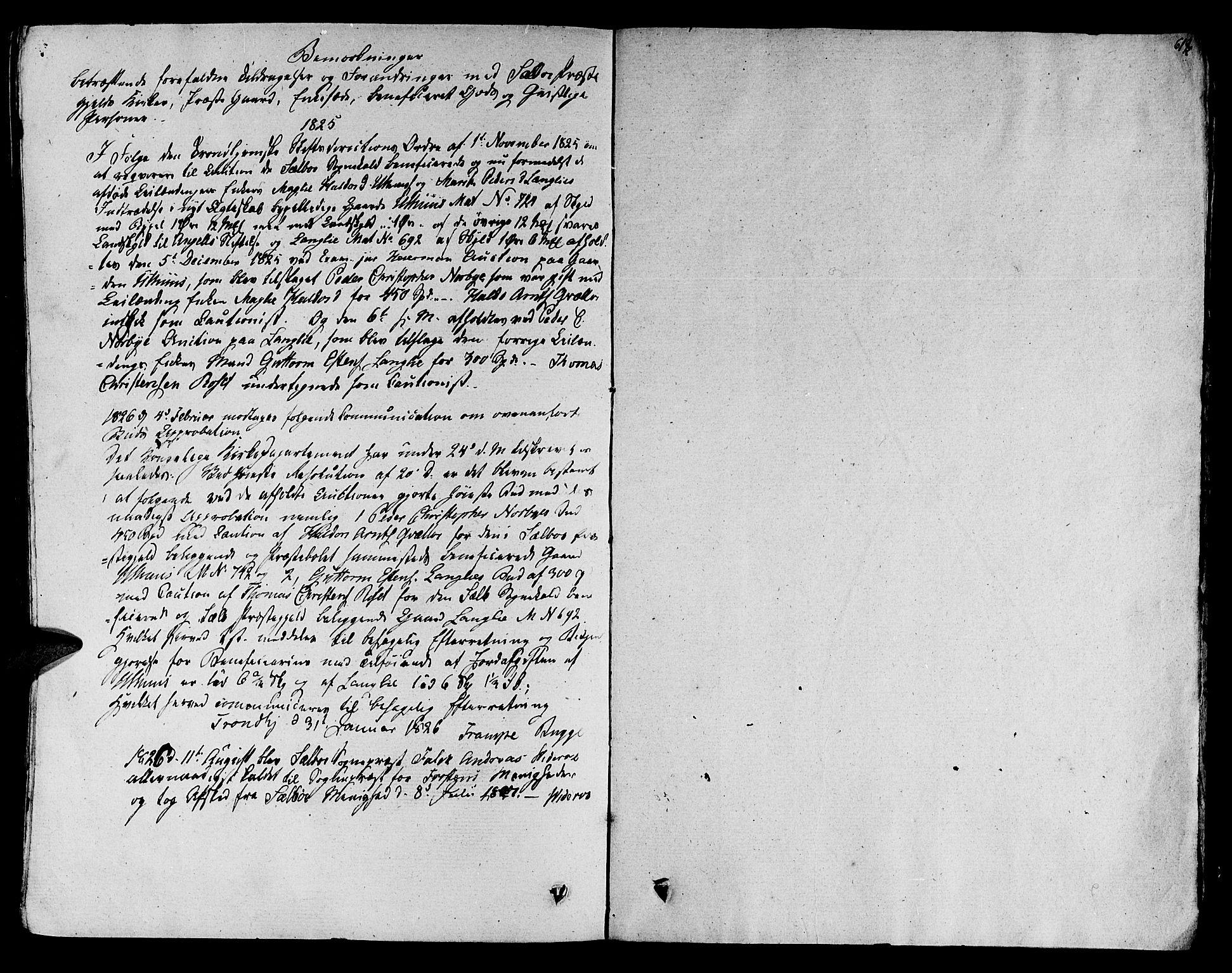 SAT, Ministerialprotokoller, klokkerbøker og fødselsregistre - Sør-Trøndelag, 695/L1143: Ministerialbok nr. 695A05 /1, 1824-1842, s. 618