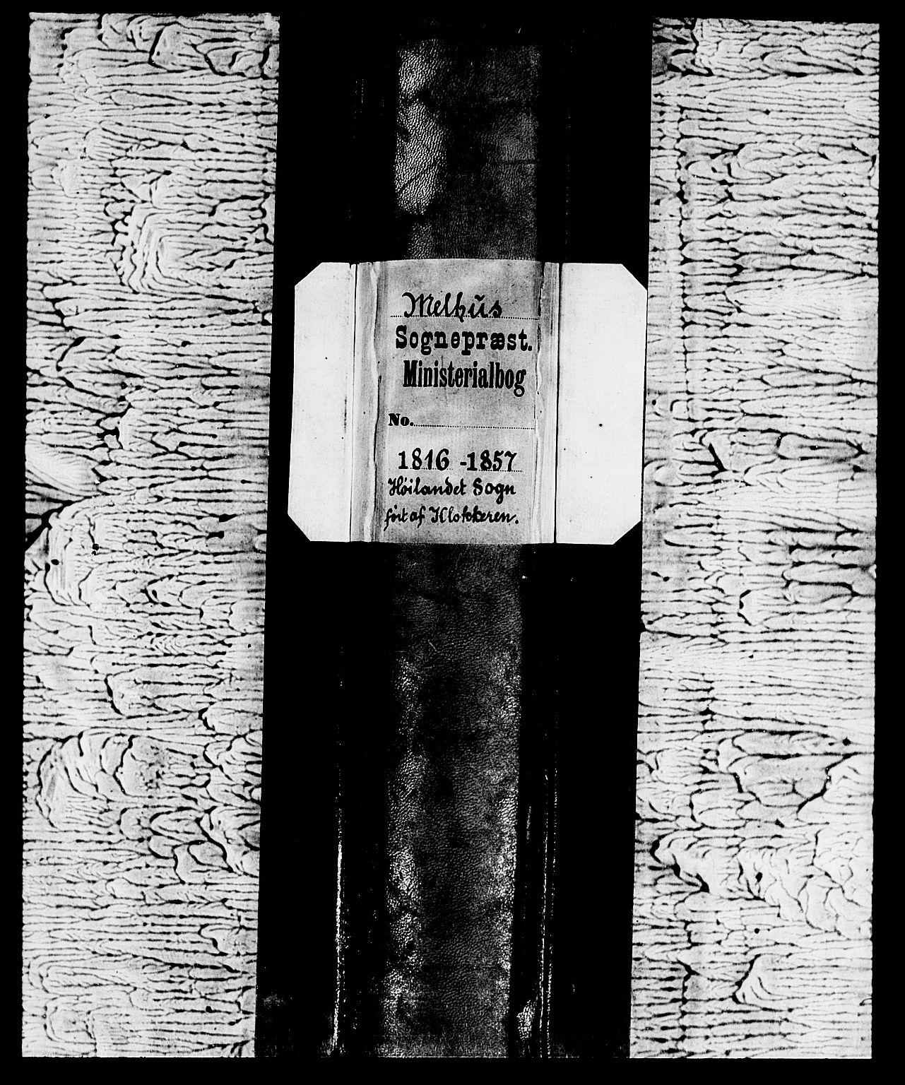 SAT, Ministerialprotokoller, klokkerbøker og fødselsregistre - Sør-Trøndelag, 694/L1130: Klokkerbok nr. 694C02, 1816-1857