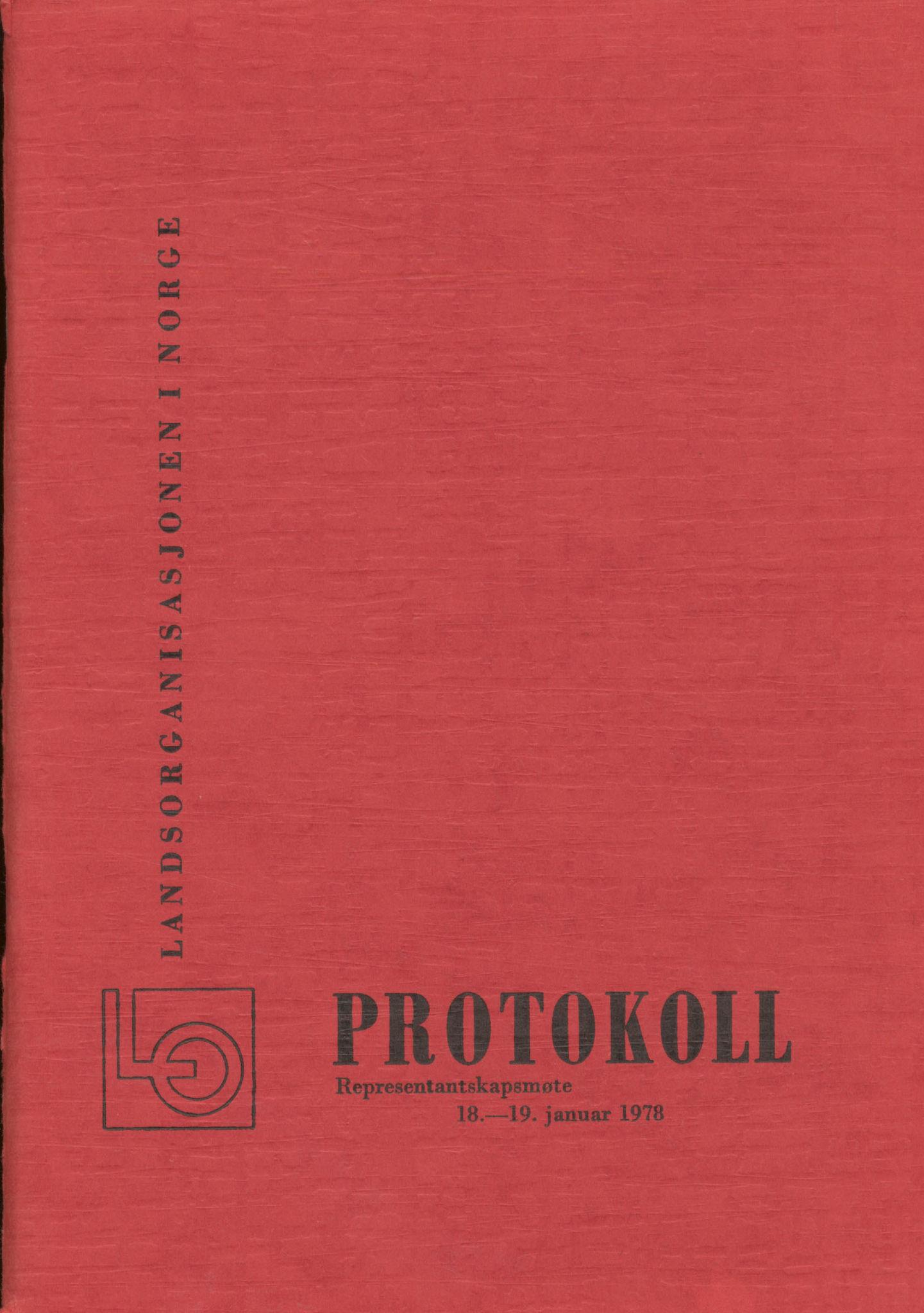 AAB, Landsorganisasjonen i Norge, 1978-1992, s. 1