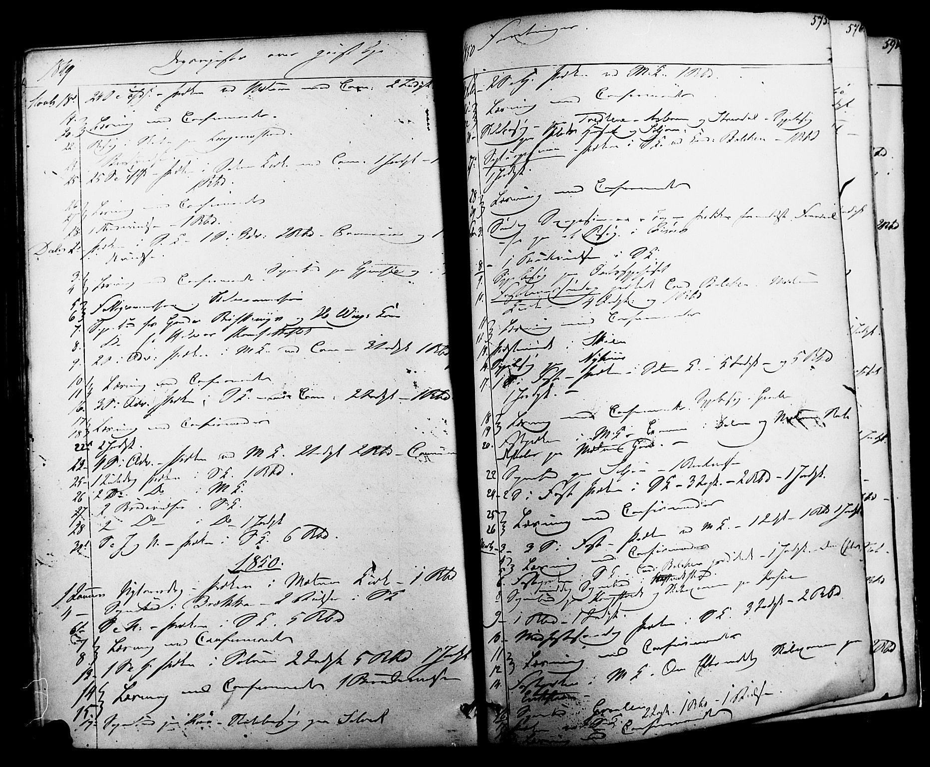 SAKO, Solum kirkebøker, F/Fa/L0006: Ministerialbok nr. I 6, 1844-1855, s. 575