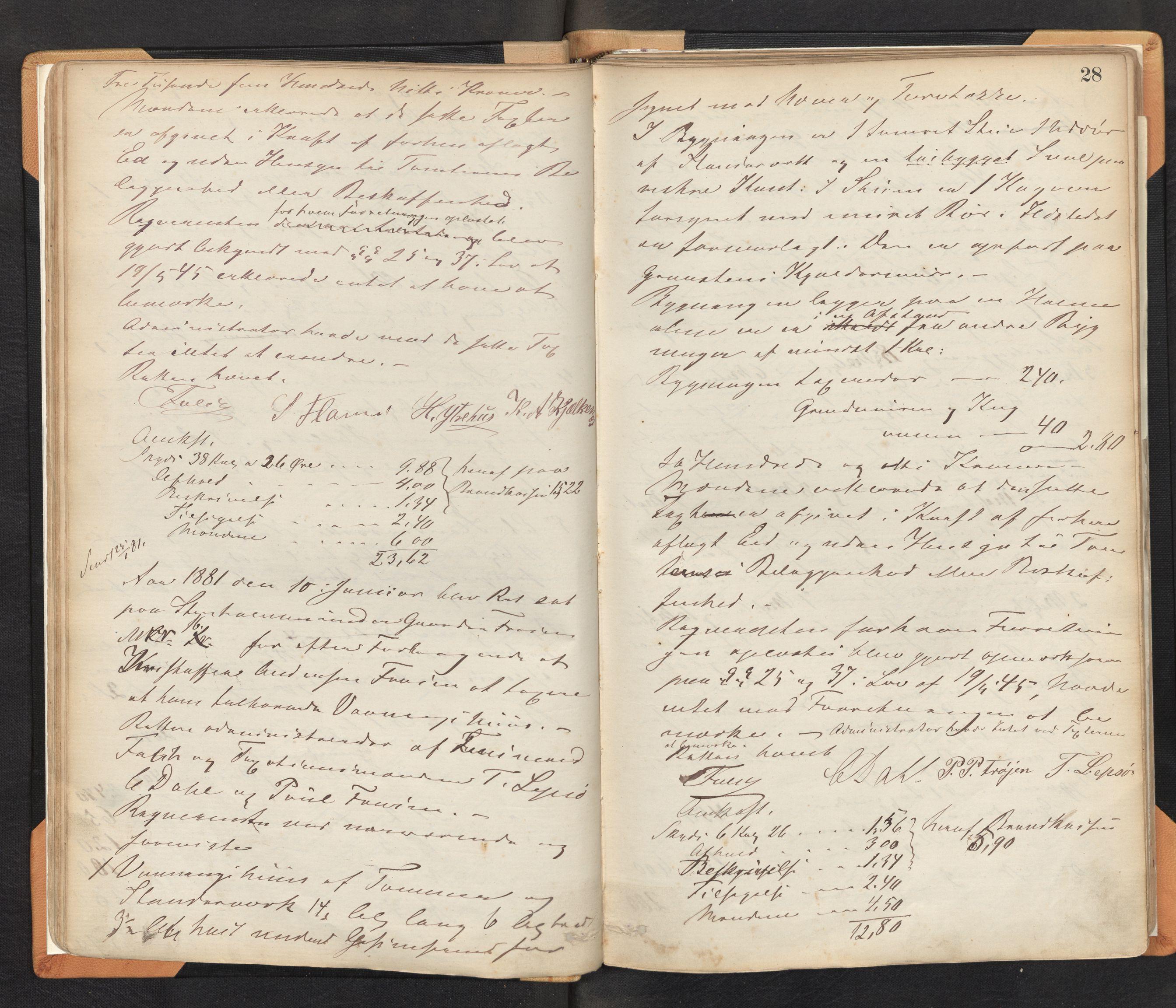 SAB, Lensmannen i Bremanger, 0012/L0002: Branntakstprotokoll, 1879-1947, s. 27b-28a
