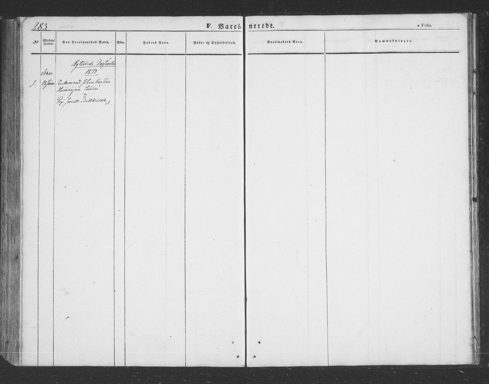 SATØ, Lenvik sokneprestembete, H/Ha: Klokkerbok nr. 20, 1855-1883, s. 283