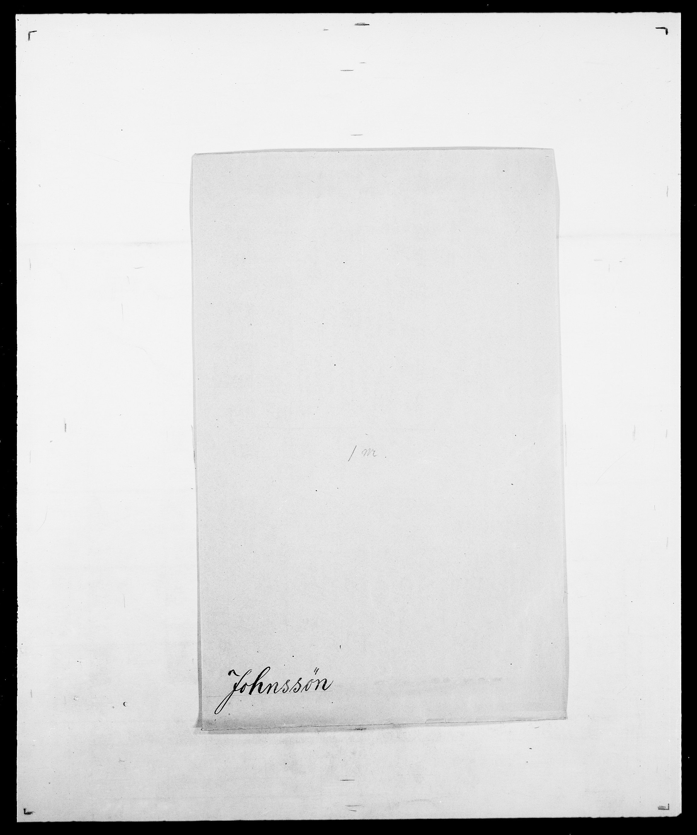 SAO, Delgobe, Charles Antoine - samling, D/Da/L0019: van der Hude - Joys, s. 873