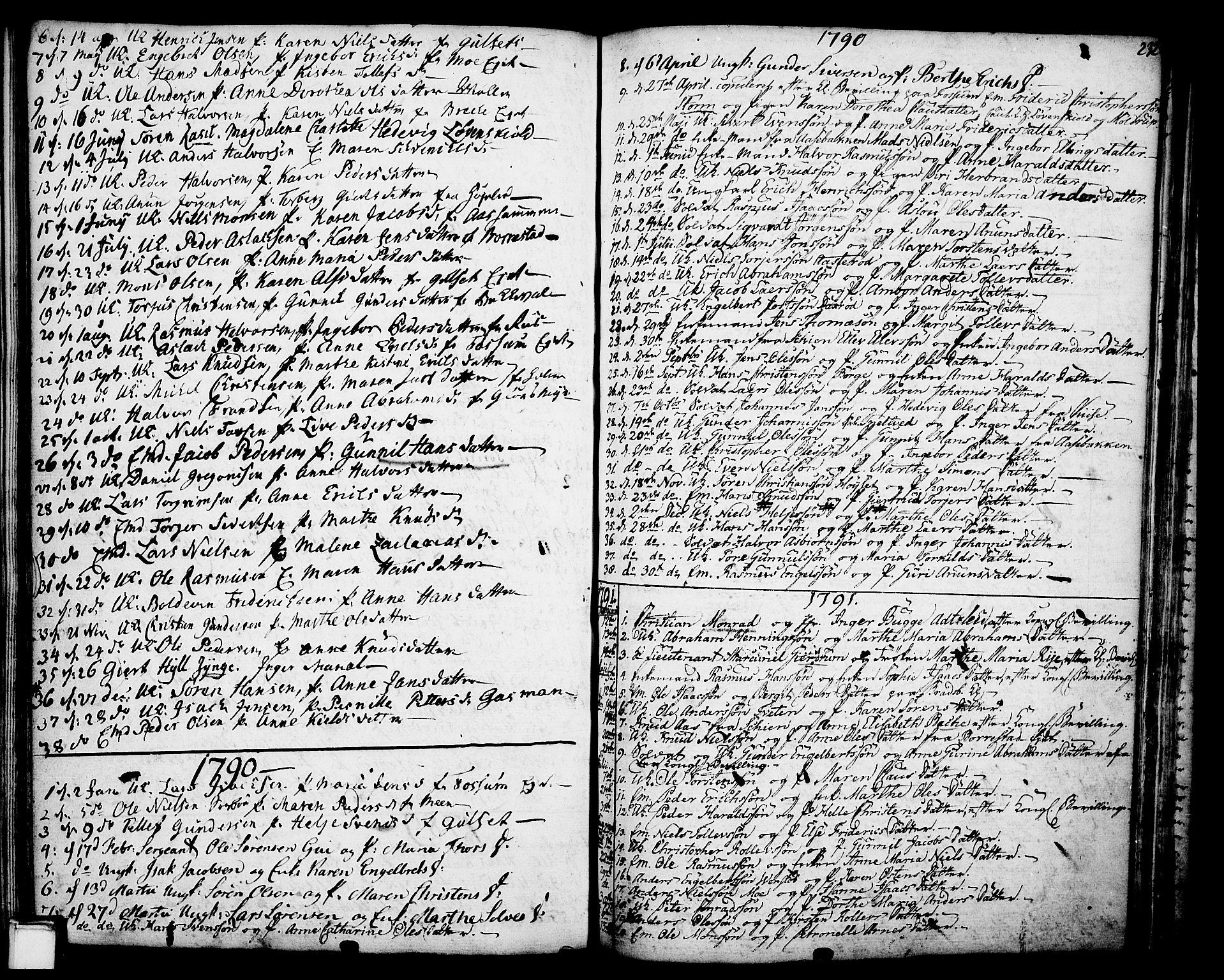 SAKO, Gjerpen kirkebøker, F/Fa/L0002: Ministerialbok nr. 2, 1747-1795, s. 232
