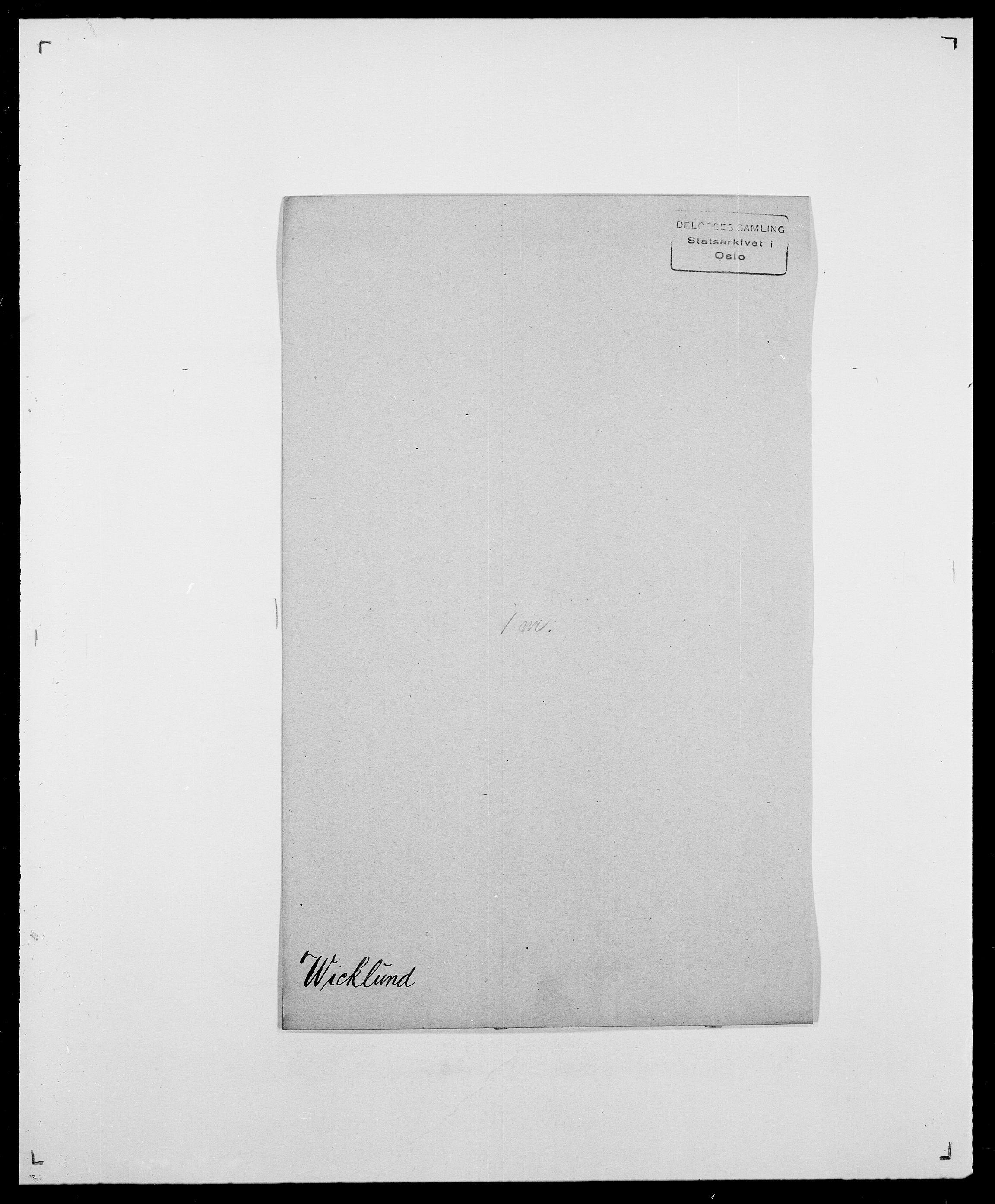 SAO, Delgobe, Charles Antoine - samling, D/Da/L0041: Vemmestad - Viker, s. 454