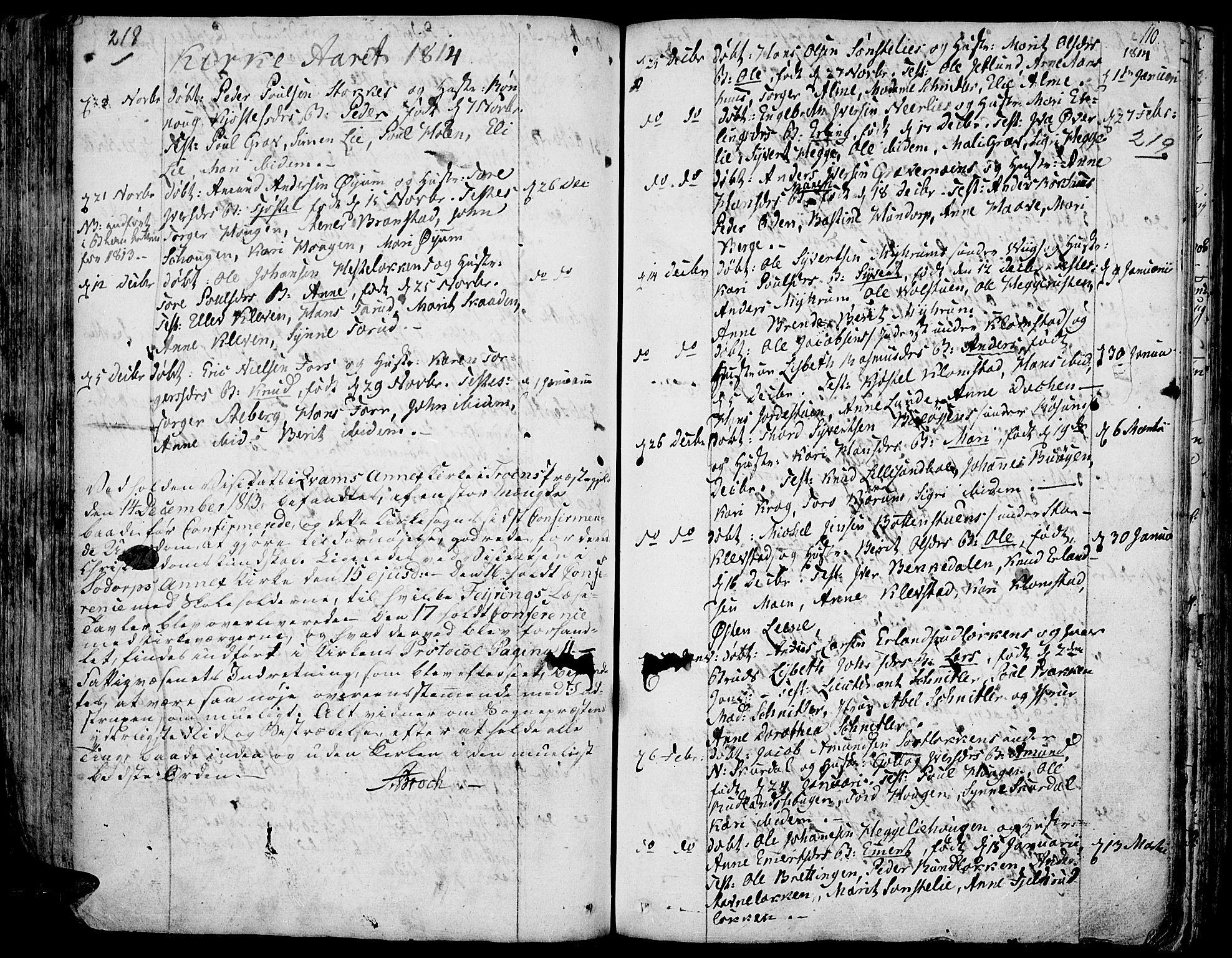 SAH, Fron prestekontor, H/Ha/Haa/L0001: Ministerialbok nr. 1, 1799-1816, s. 218-219