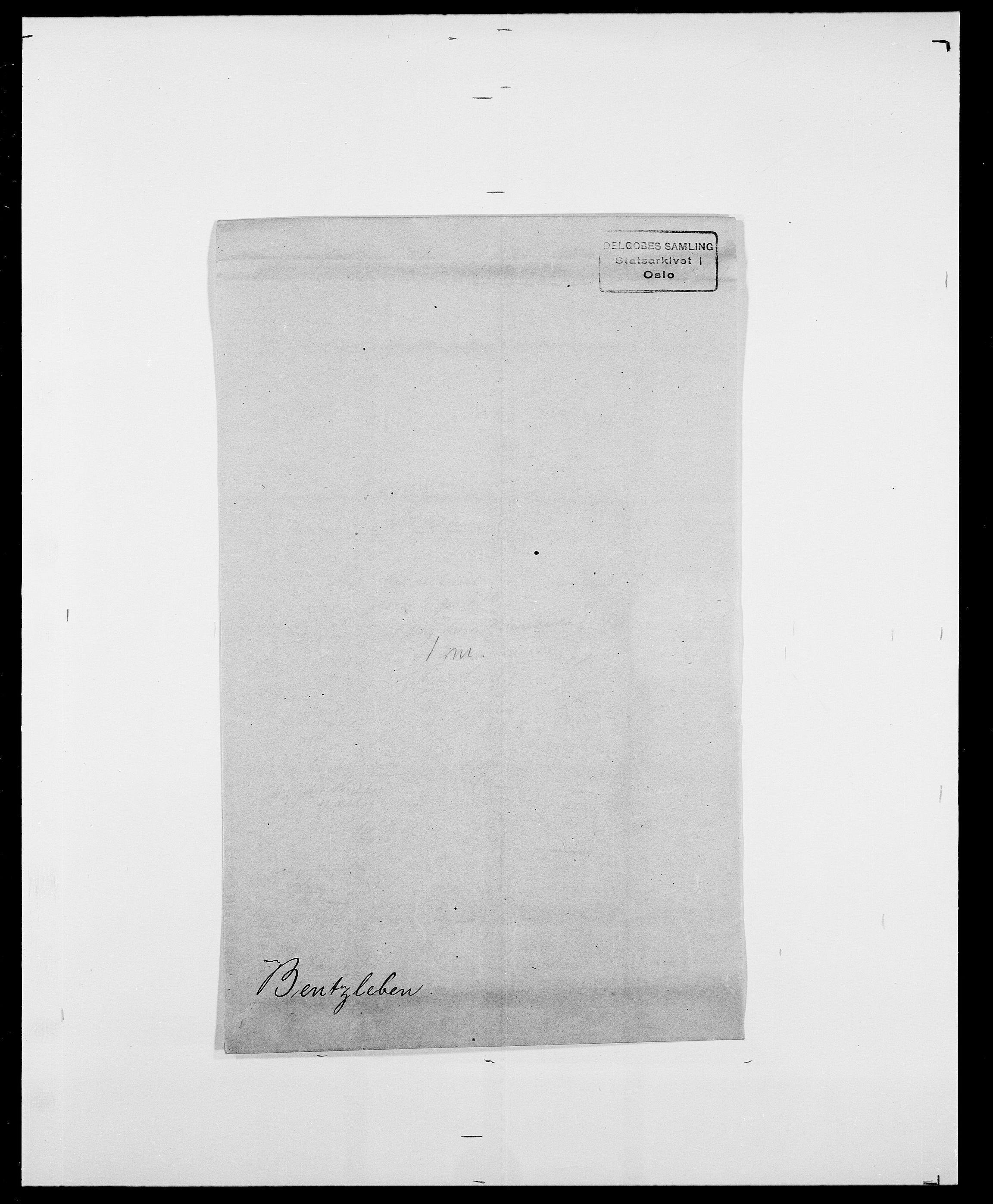 SAO, Delgobe, Charles Antoine - samling, D/Da/L0003: Barca - Bergen, s. 841
