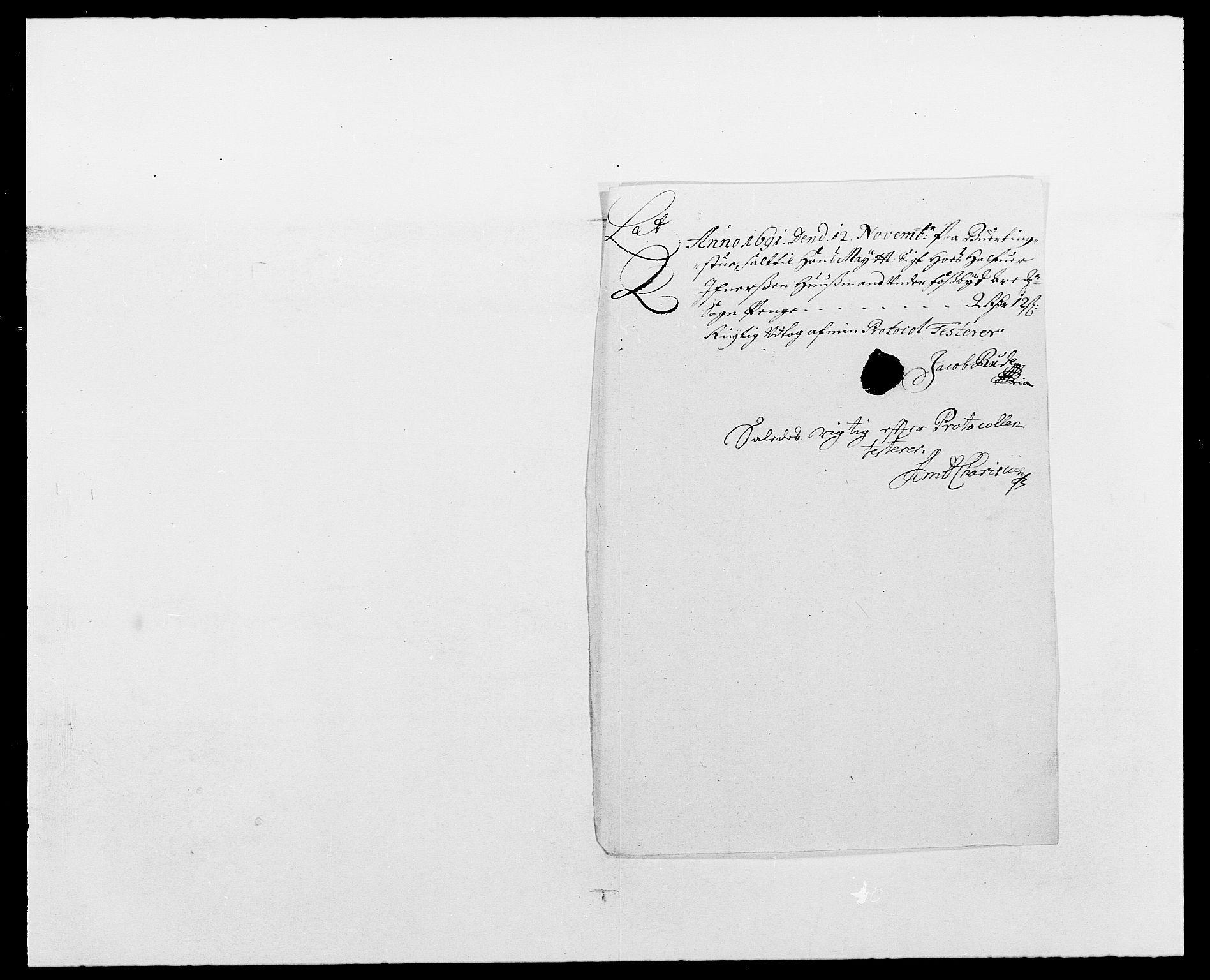 RA, Rentekammeret inntil 1814, Reviderte regnskaper, Fogderegnskap, R01/L0010: Fogderegnskap Idd og Marker, 1690-1691, s. 330