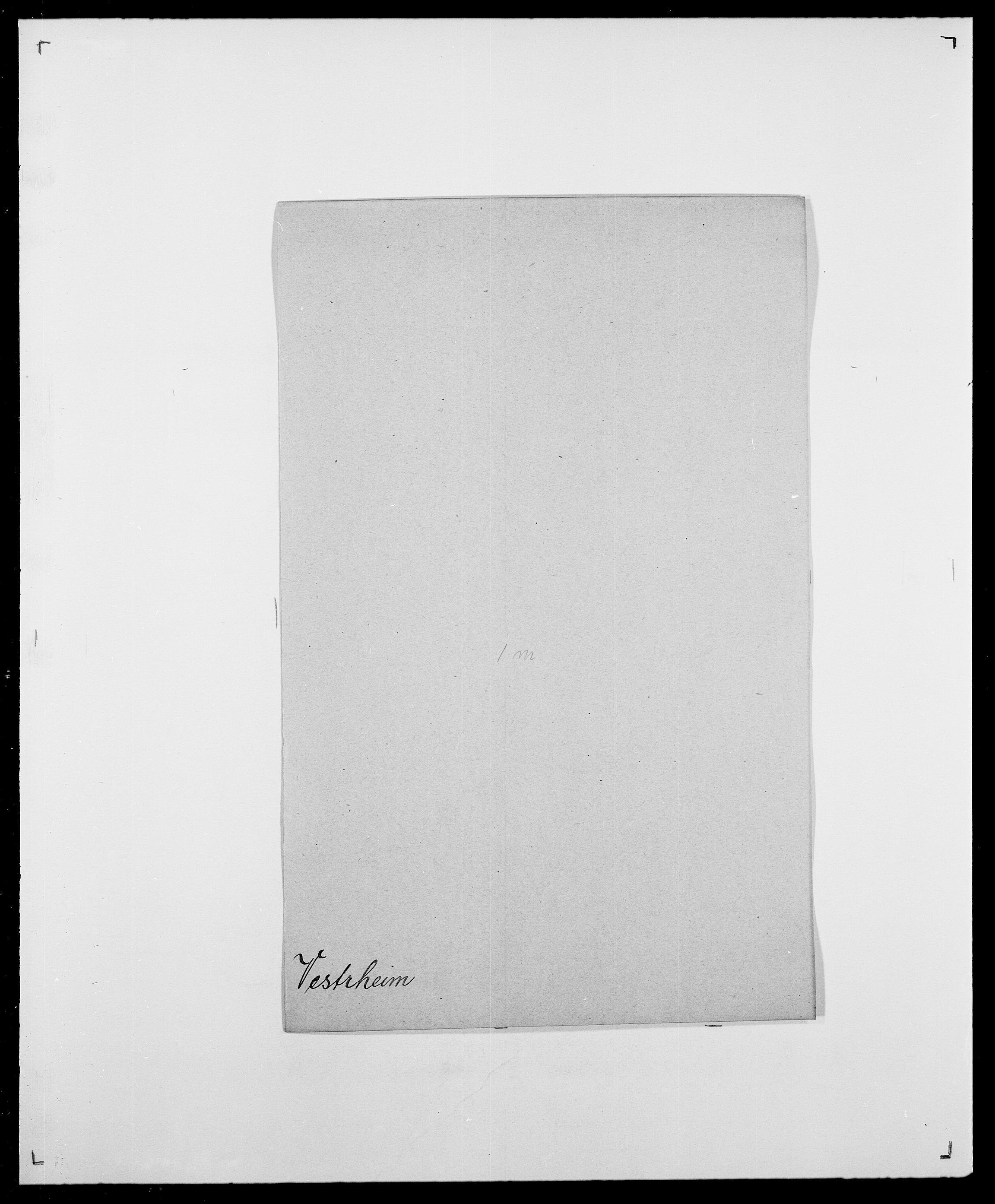 SAO, Delgobe, Charles Antoine - samling, D/Da/L0041: Vemmestad - Viker, s. 307