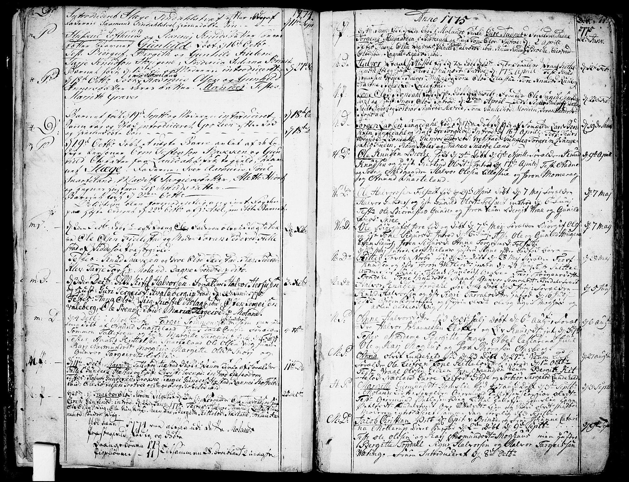 SAKO, Fyresdal kirkebøker, F/Fa/L0002: Ministerialbok nr. I 2, 1769-1814, s. 11