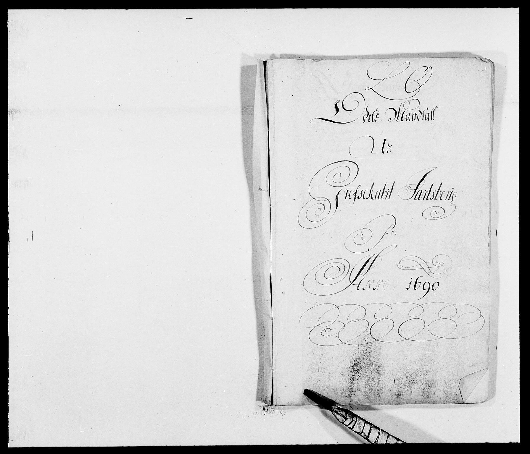 RA, Rentekammeret inntil 1814, Reviderte regnskaper, Fogderegnskap, R32/L1861: Fogderegnskap Jarlsberg grevskap, 1686-1690, s. 145