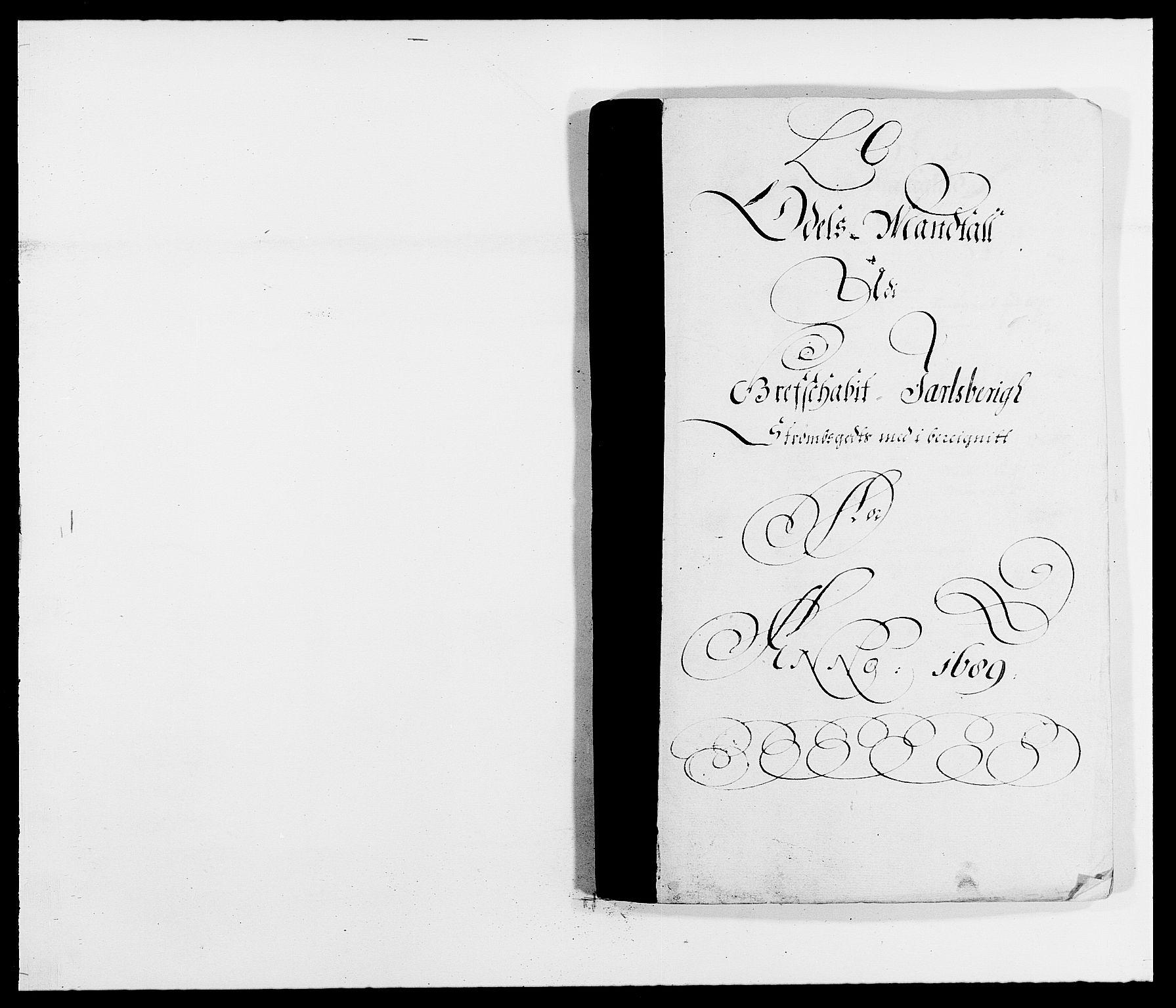 RA, Rentekammeret inntil 1814, Reviderte regnskaper, Fogderegnskap, R32/L1860: Fogderegnskap Jarlsberg grevskap, 1686-1690, s. 148