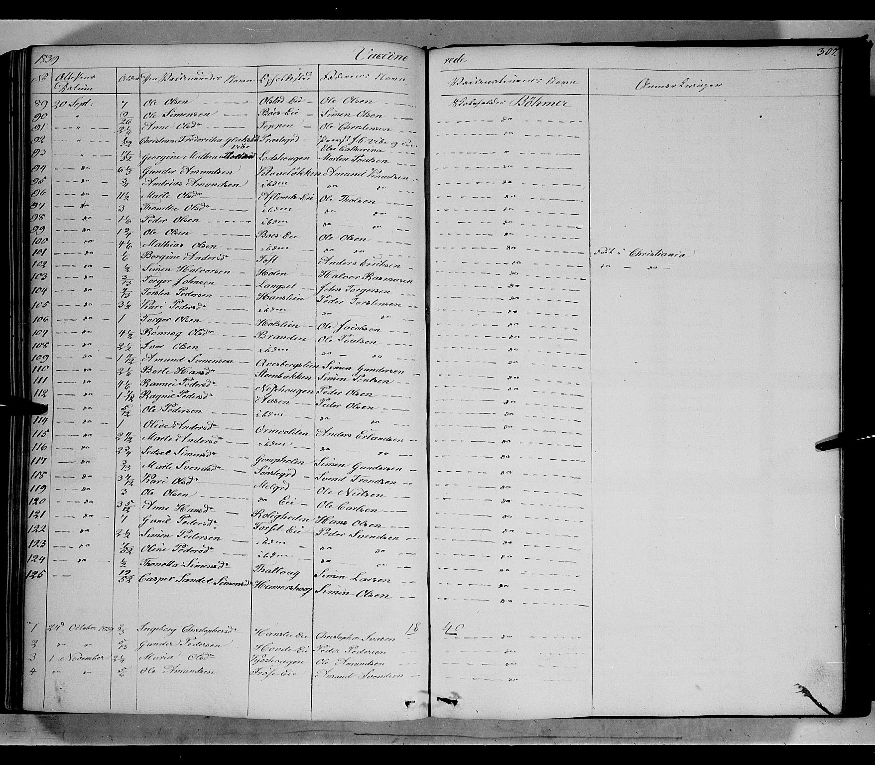 SAH, Gausdal prestekontor, Ministerialbok nr. 7, 1840-1850, s. 307