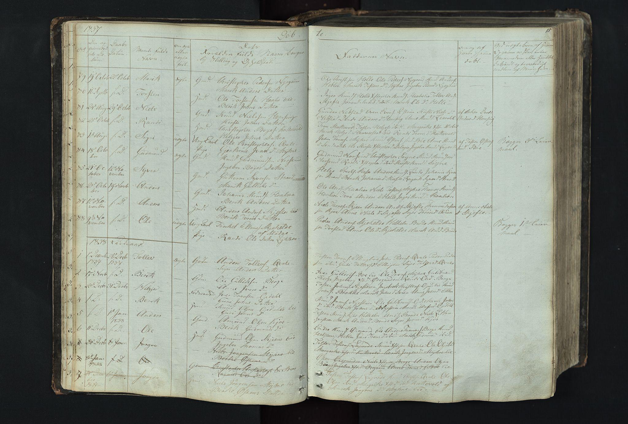 SAH, Vang prestekontor, Valdres, Klokkerbok nr. 4, 1835-1892, s. 15