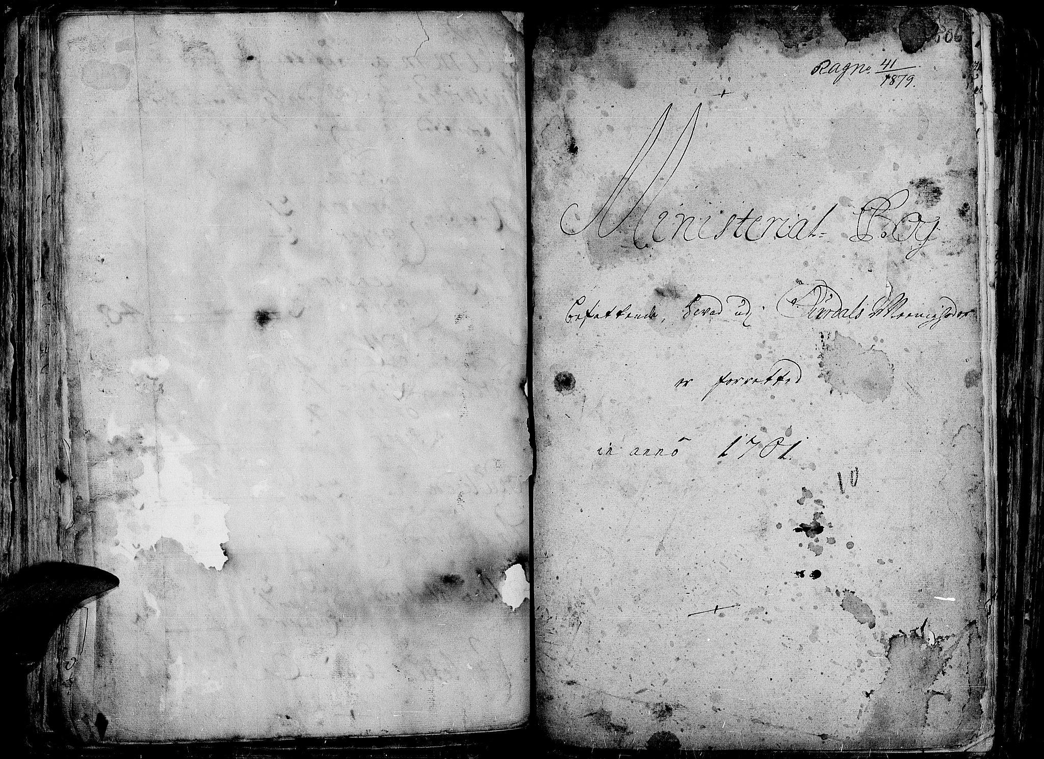 SAH, Aurdal prestekontor, Ministerialbok nr. 1-3, 1692-1730, s. 206