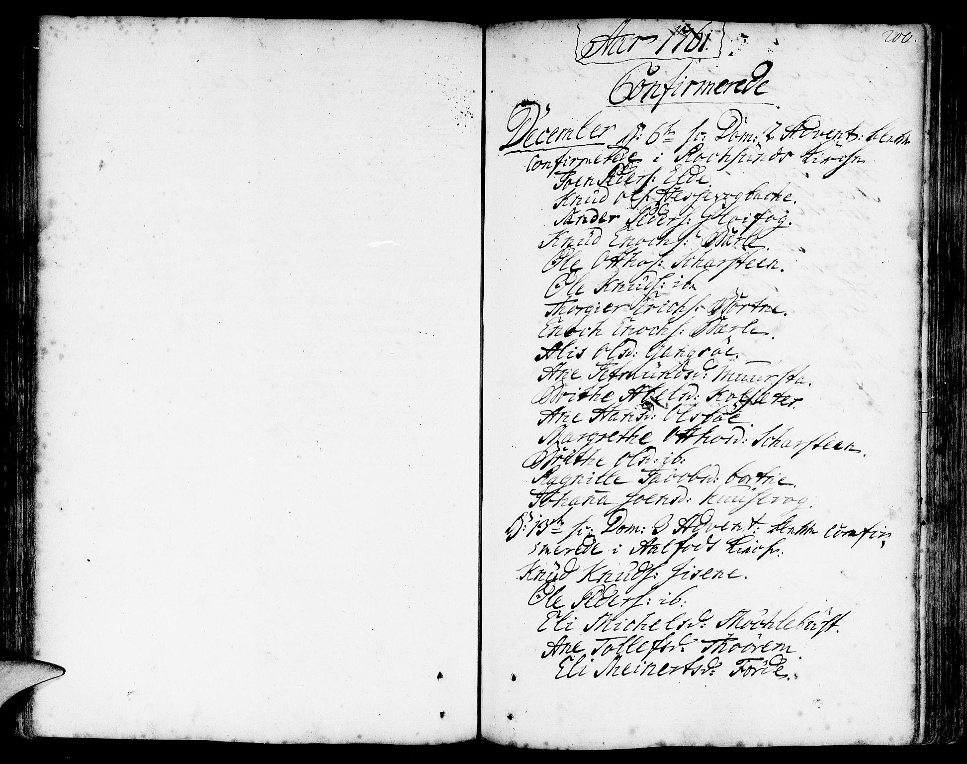 SAB, Davik Sokneprestembete, Ministerialbok nr. A 2, 1742-1816, s. 200