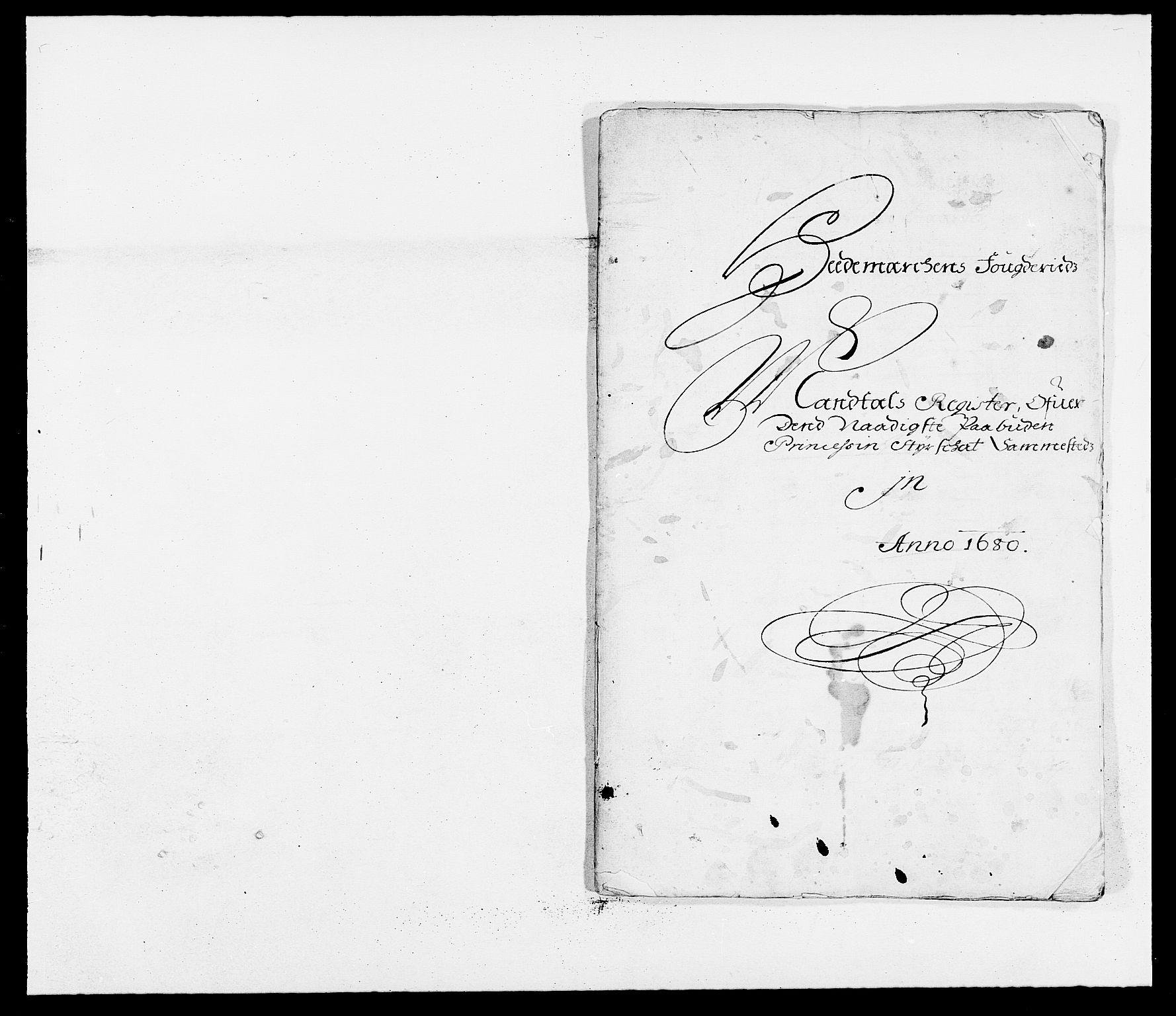 RA, Rentekammeret inntil 1814, Reviderte regnskaper, Fogderegnskap, R16/L1020: Fogderegnskap Hedmark, 1680, s. 263