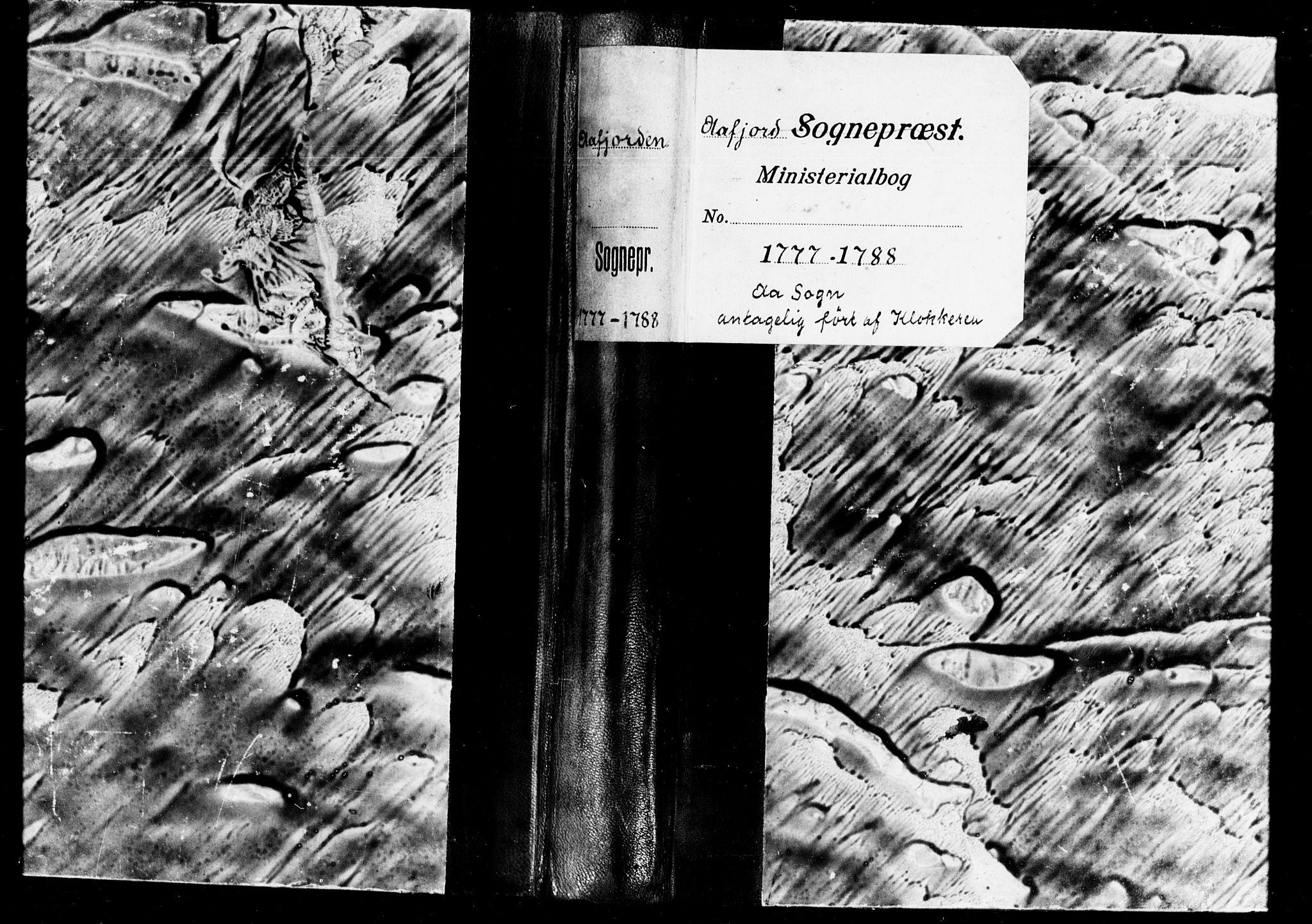 SAT, Ministerialprotokoller, klokkerbøker og fødselsregistre - Sør-Trøndelag, 655/L0685: Klokkerbok nr. 655C01, 1777-1788