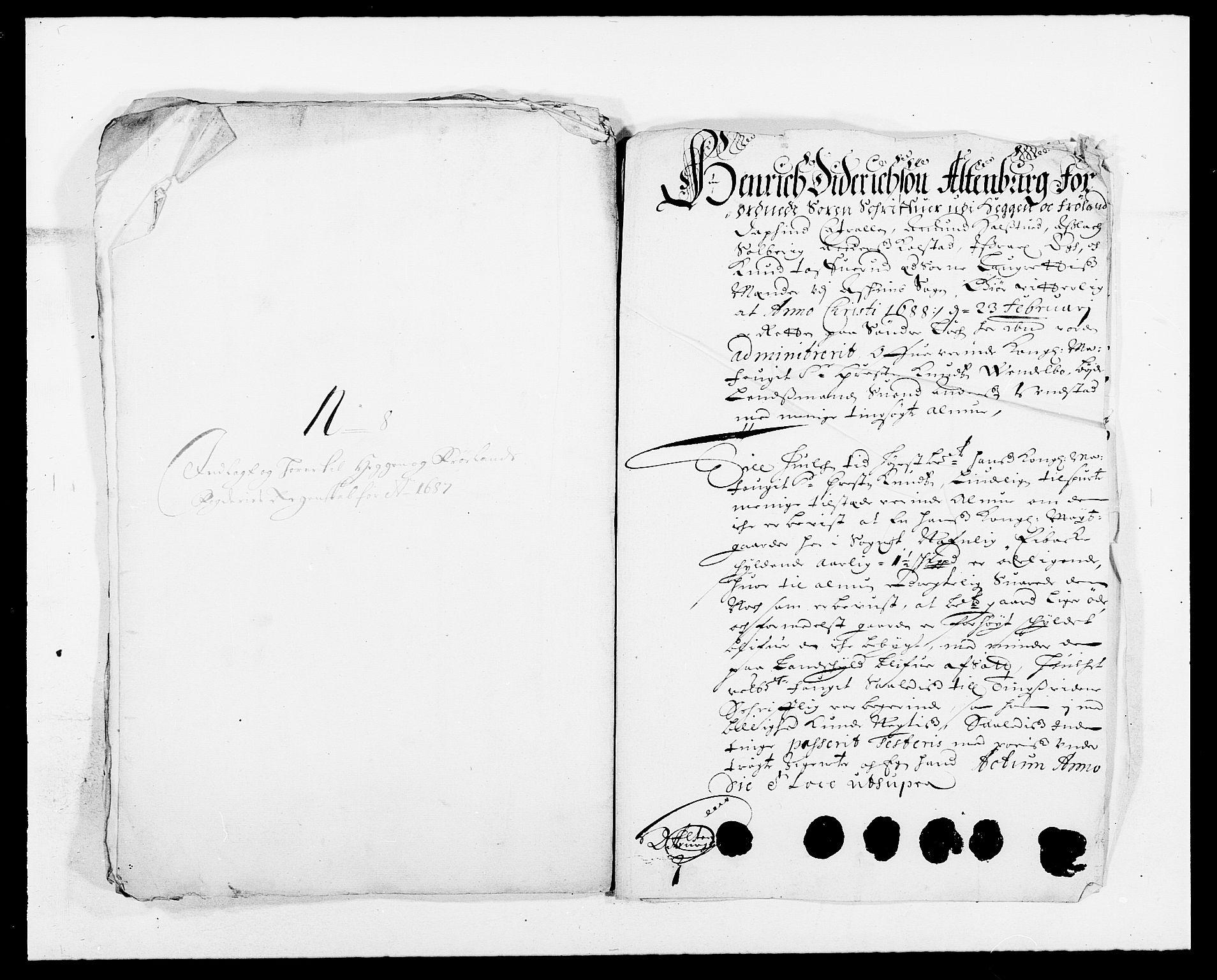 RA, Rentekammeret inntil 1814, Reviderte regnskaper, Fogderegnskap, R06/L0282: Fogderegnskap Heggen og Frøland, 1687-1690, s. 60