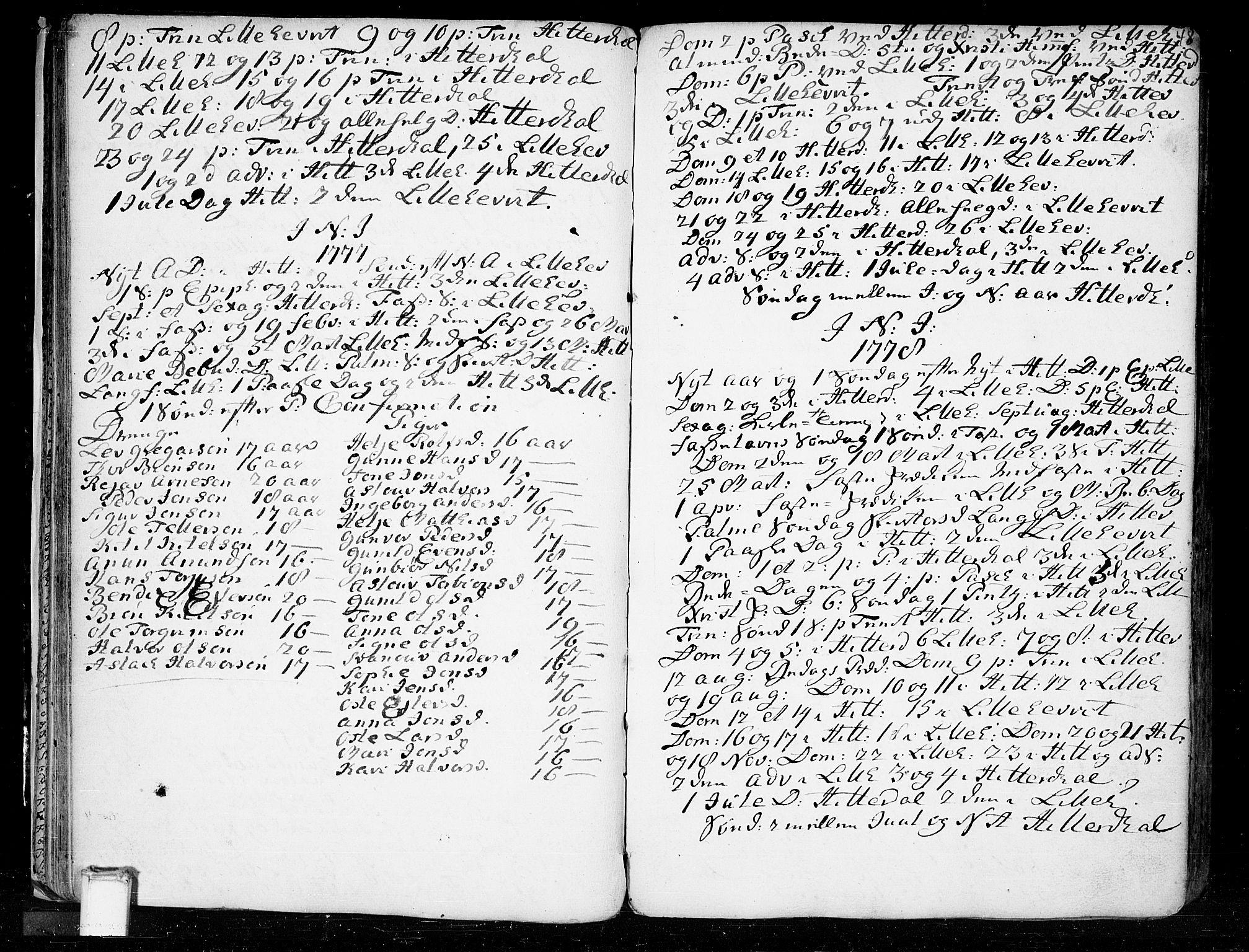 SAKO, Heddal kirkebøker, F/Fa/L0003: Ministerialbok nr. I 3, 1723-1783, s. 48