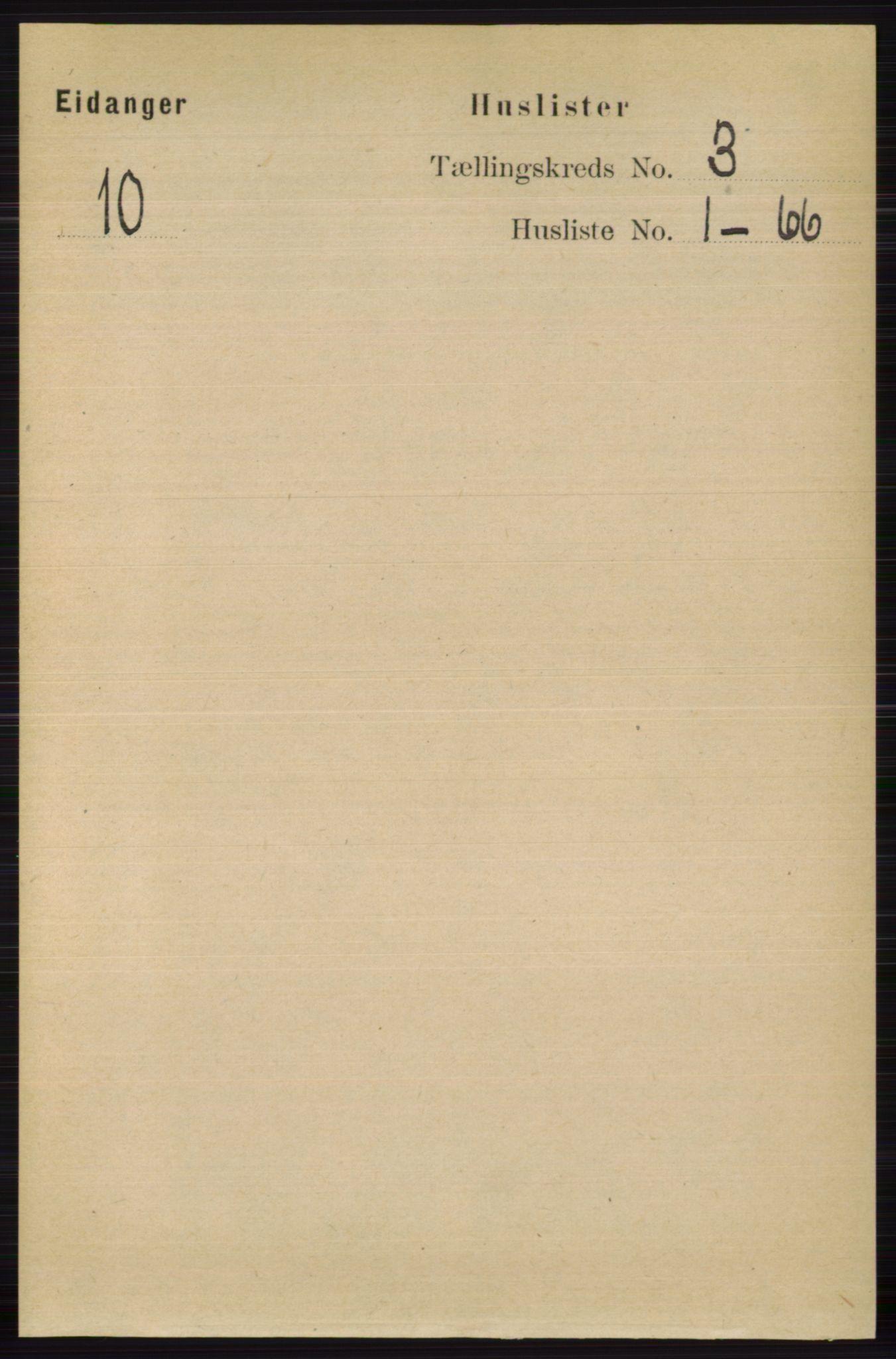 RA, Folketelling 1891 for 0813 Eidanger herred, 1891, s. 1447