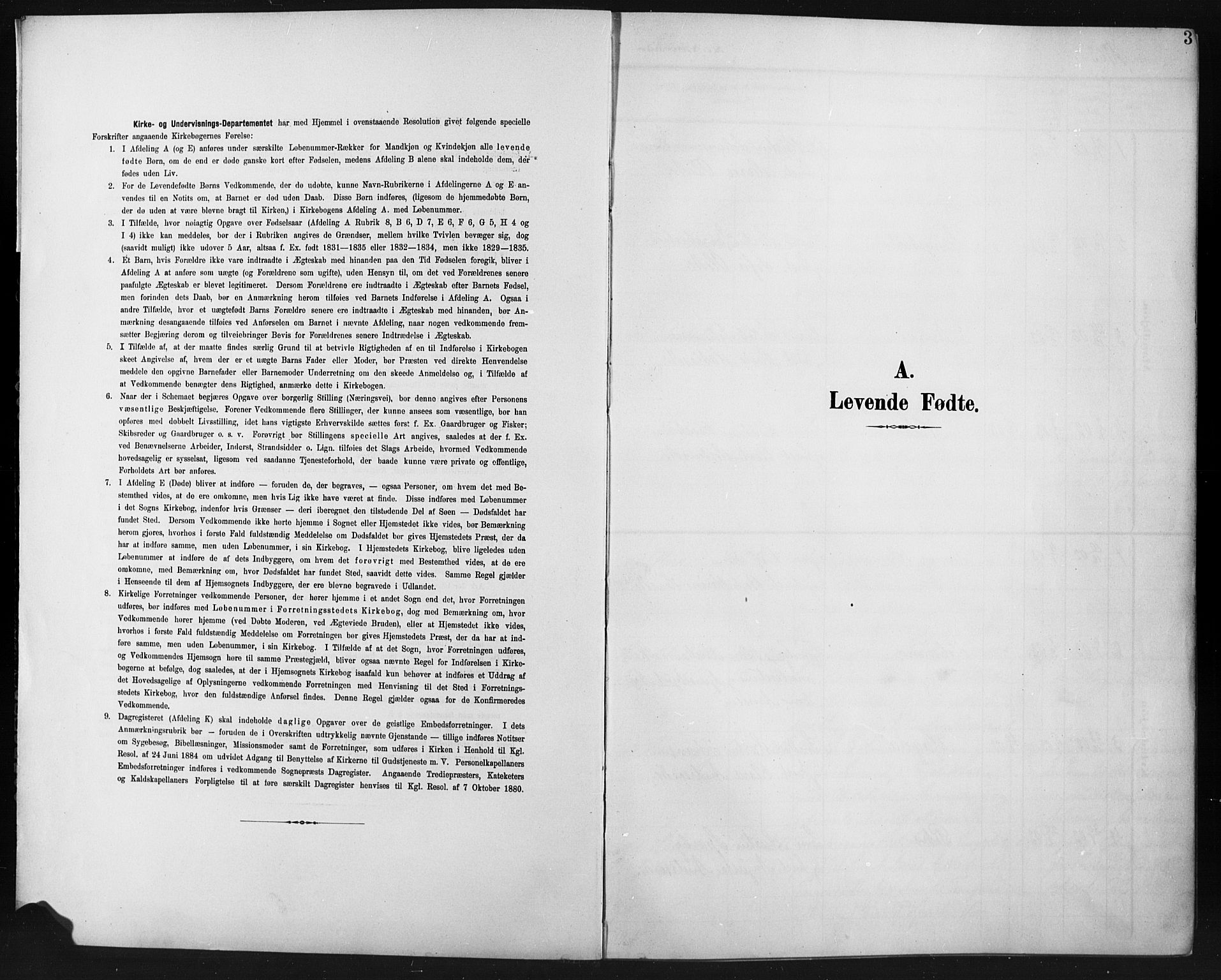 SAH, Fåberg prestekontor, Klokkerbok nr. 12, 1903-1924, s. 3