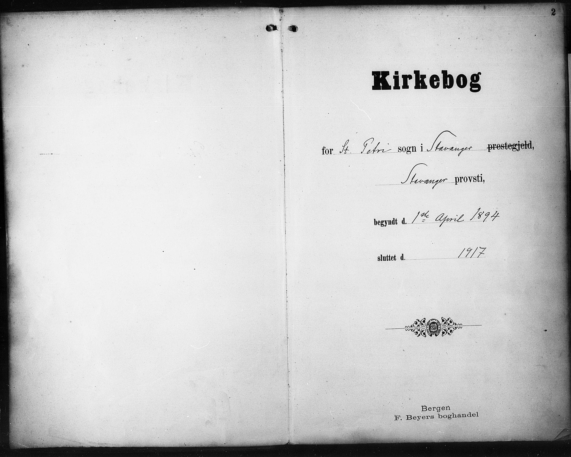 SAST, St. Petri sokneprestkontor, 30/30BA/L0021: Ministerialbok nr. A 21, 1894-1917, s. 2