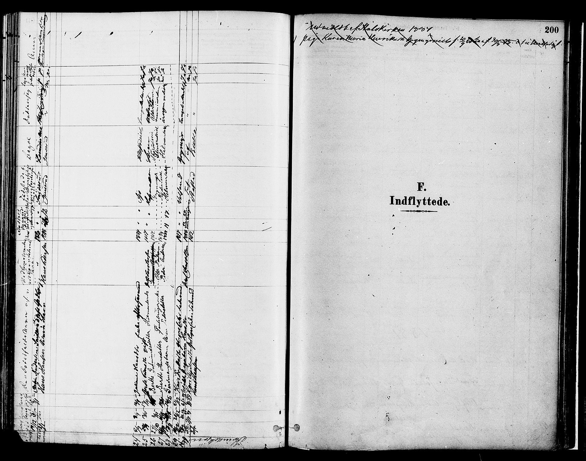 SAH, Gran prestekontor, Ministerialbok nr. 14, 1880-1889, s. 200