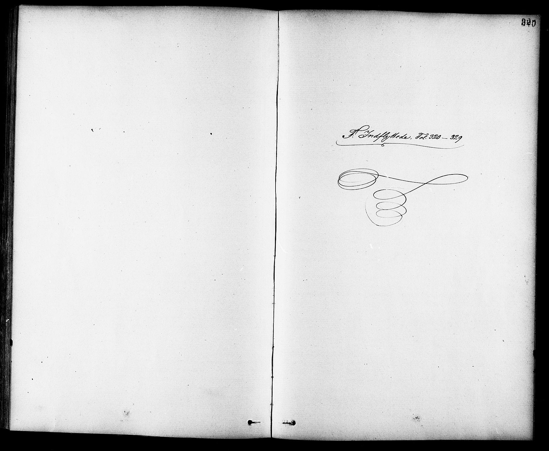 SAT, Ministerialprotokoller, klokkerbøker og fødselsregistre - Sør-Trøndelag, 691/L1094: Klokkerbok nr. 691C05, 1879-1911, s. 320