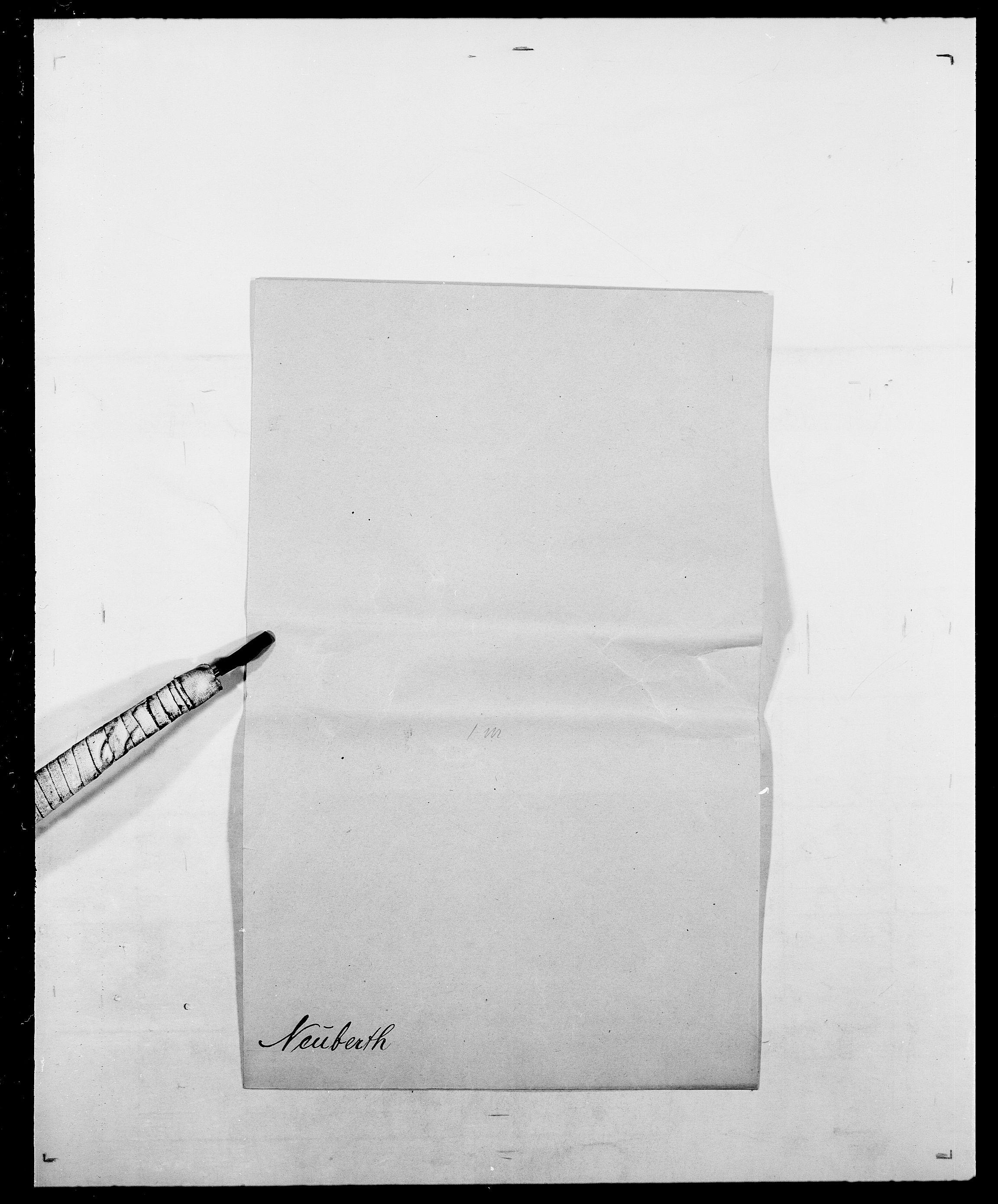 SAO, Delgobe, Charles Antoine - samling, D/Da/L0028: Naaden - Nøvik, s. 131
