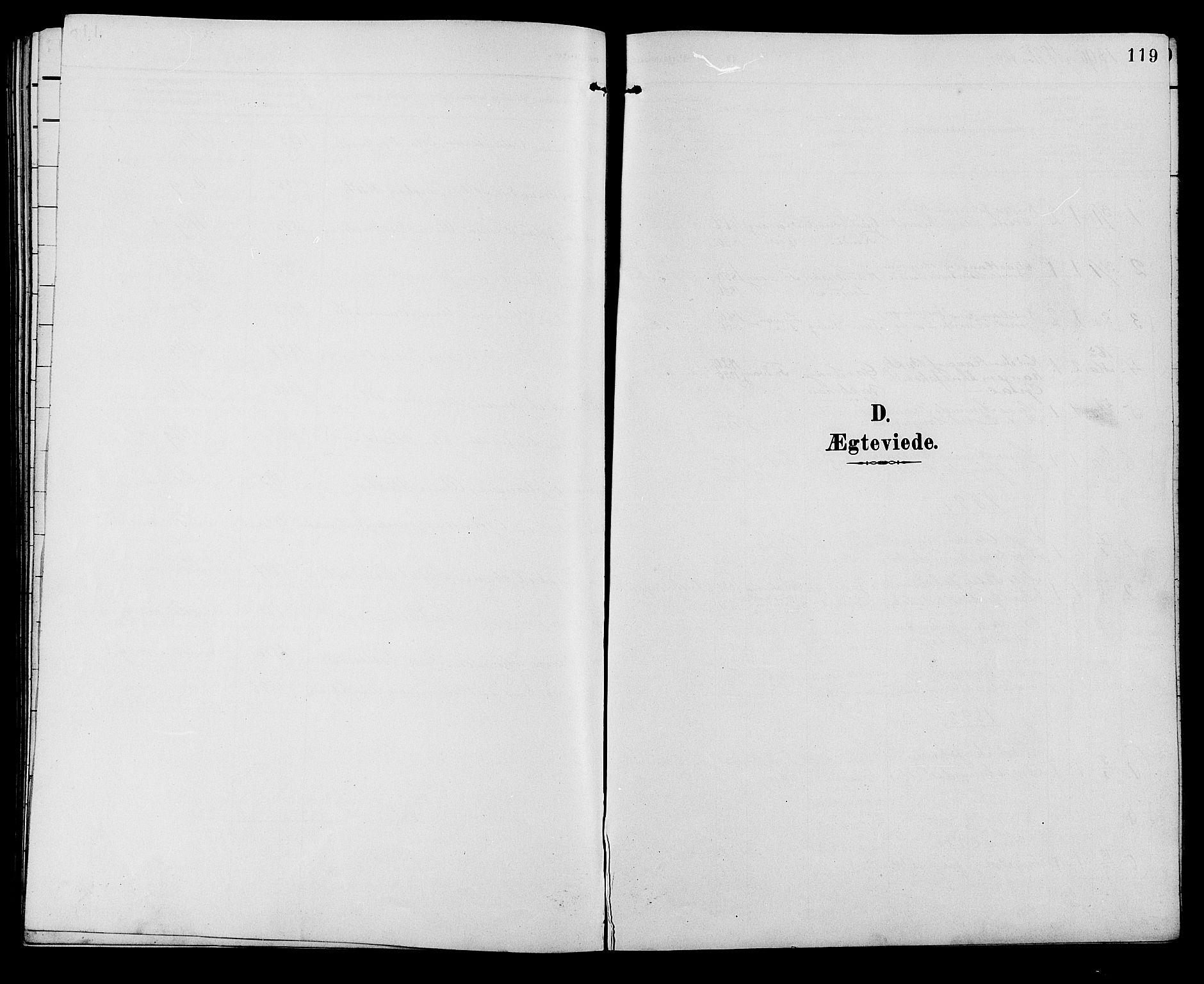 SAH, Ringebu prestekontor, Klokkerbok nr. 7, 1890-1910, s. 119