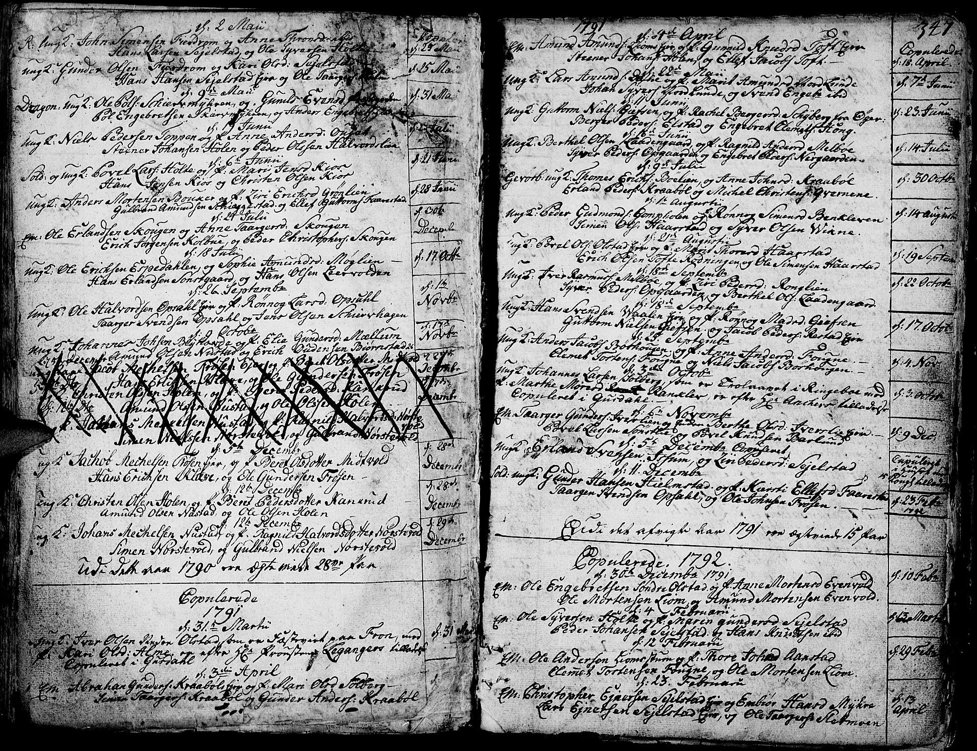 SAH, Gausdal prestekontor, Ministerialbok nr. 3, 1758-1809, s. 347