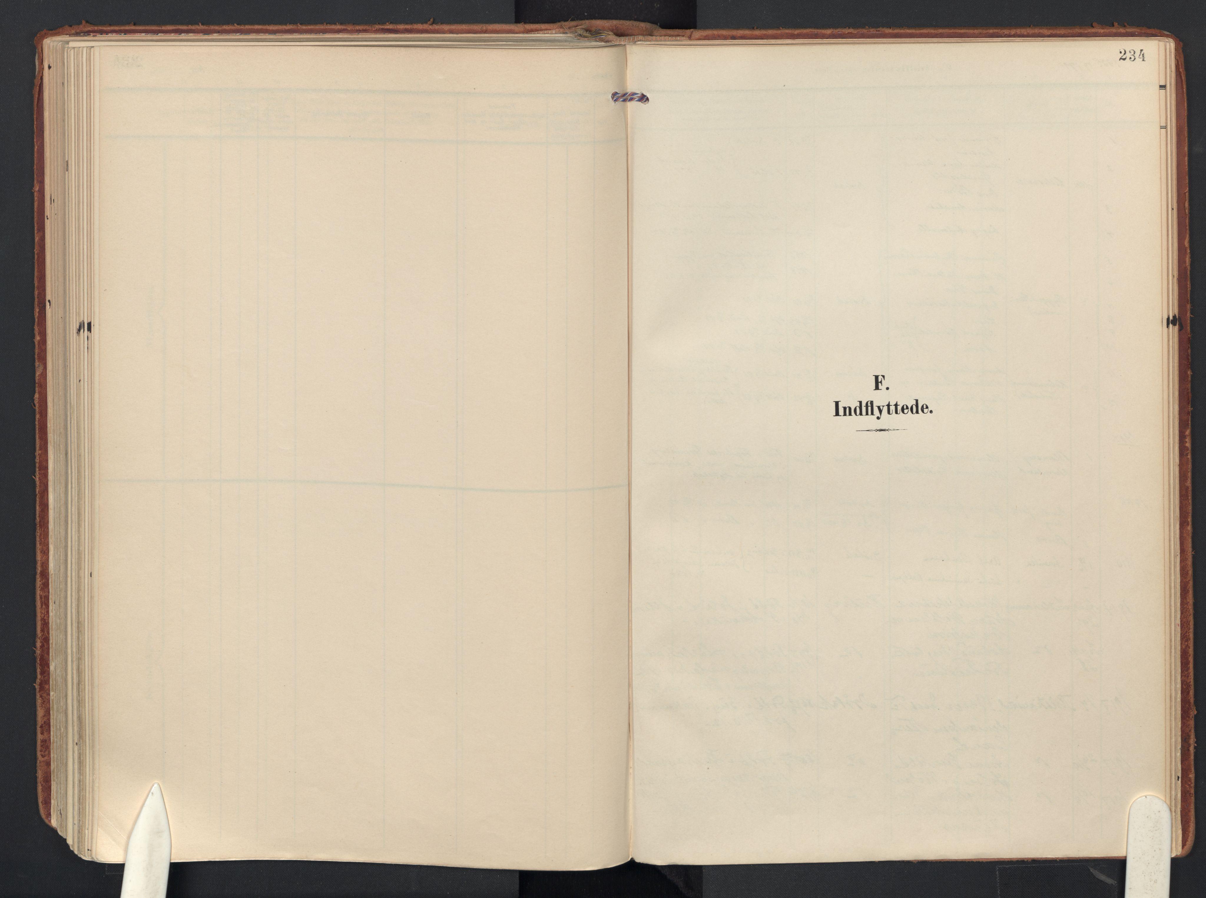 SAO, Drøbak prestekontor Kirkebøker, F/Fb/L0003: Ministerialbok nr. II 3, 1897-1918, s. 234