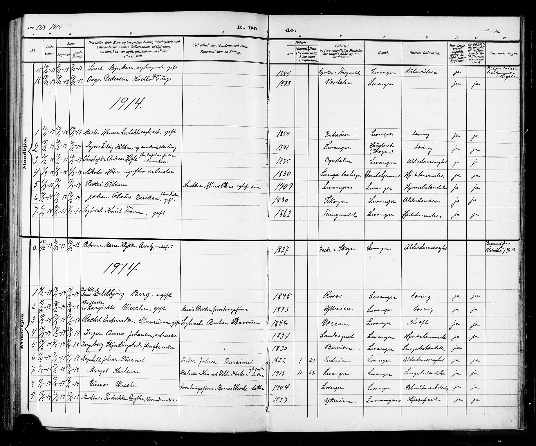 SAT, Ministerialprotokoller, klokkerbøker og fødselsregistre - Nord-Trøndelag, 720/L0192: Klokkerbok nr. 720C01, 1880-1917, s. 124l