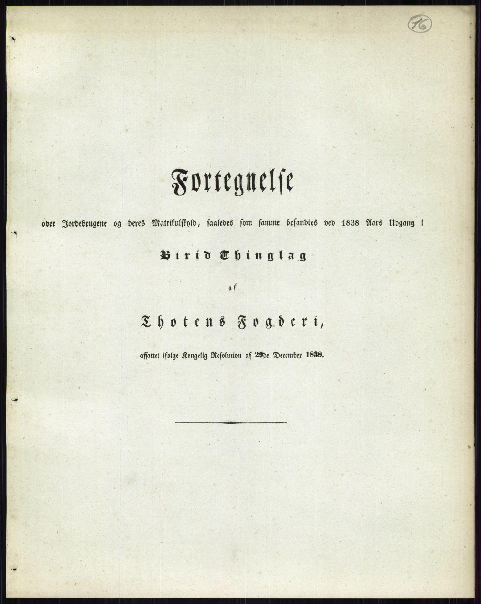 RA, 1838-matrikkelen (publikasjon)*, 1838, s. 16
