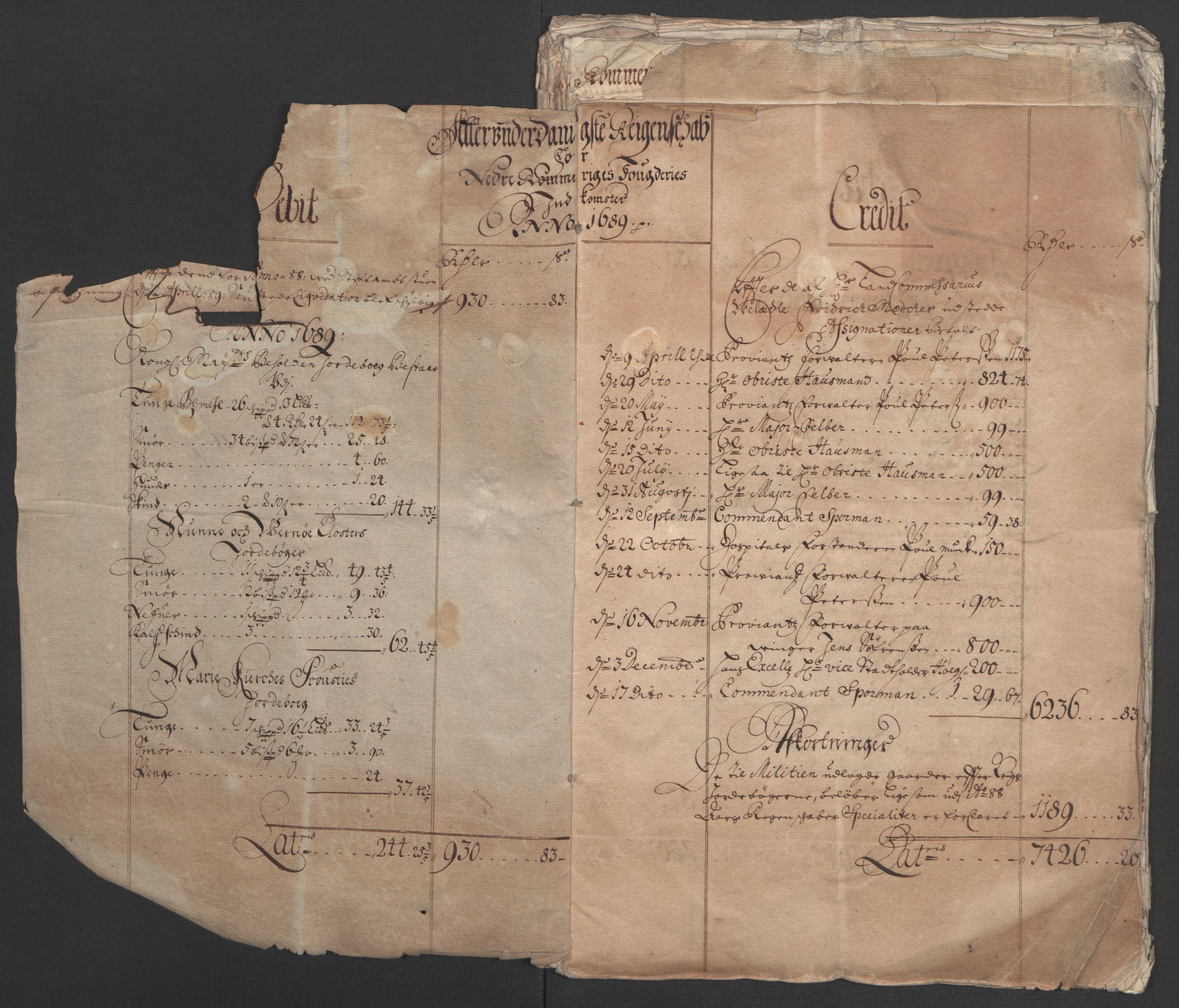 RA, Rentekammeret inntil 1814, Reviderte regnskaper, Fogderegnskap, R11/L0576: Fogderegnskap Nedre Romerike, 1682-1691, s. 5