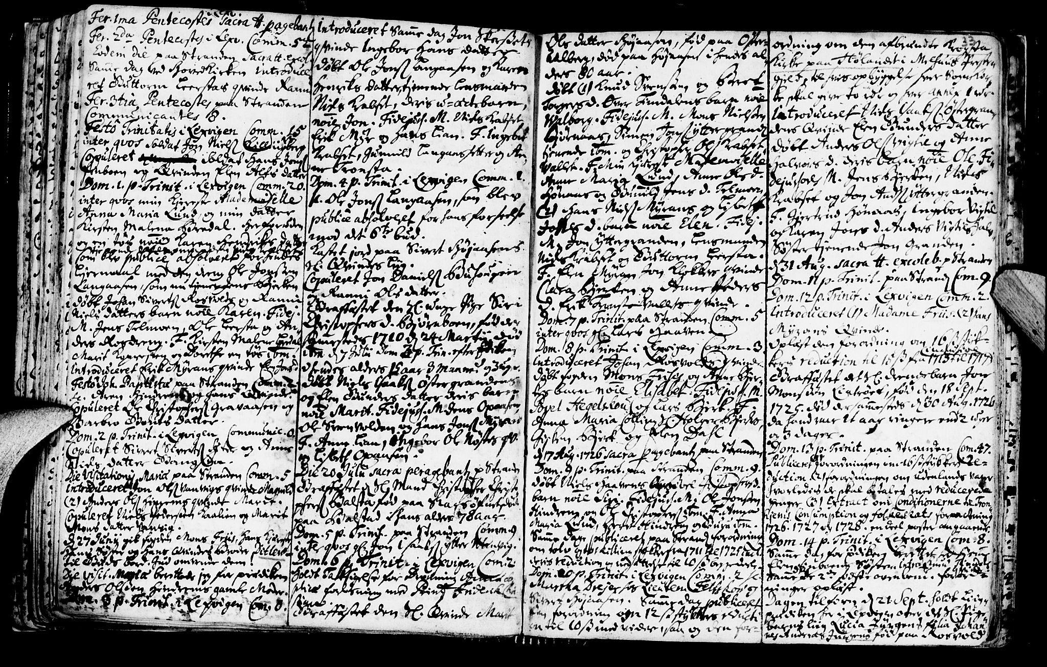 SAT, Ministerialprotokoller, klokkerbøker og fødselsregistre - Nord-Trøndelag, 701/L0001: Ministerialbok nr. 701A01, 1717-1731, s. 33