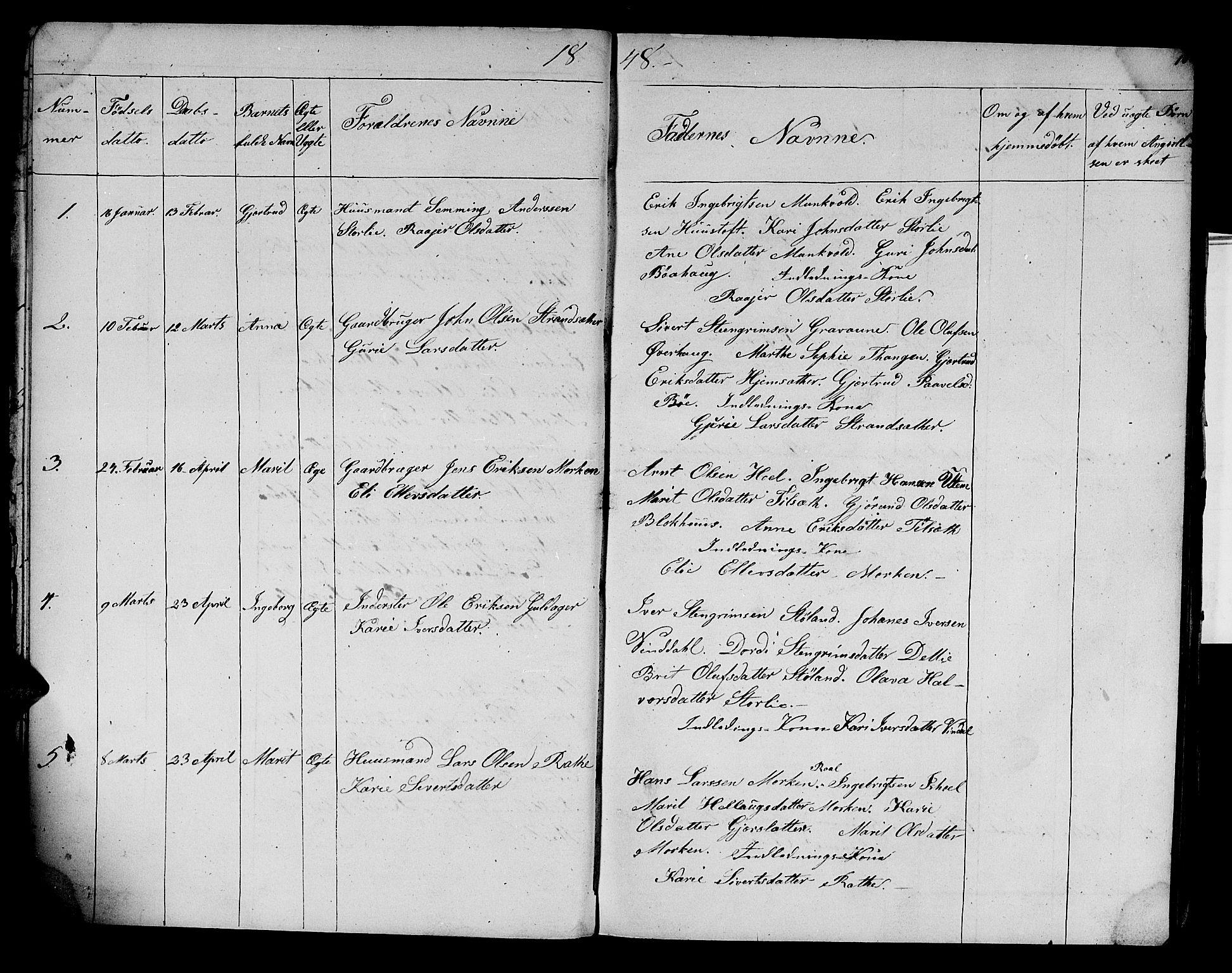 SAT, Ministerialprotokoller, klokkerbøker og fødselsregistre - Sør-Trøndelag, 679/L0922: Klokkerbok nr. 679C02, 1845-1851, s. 10