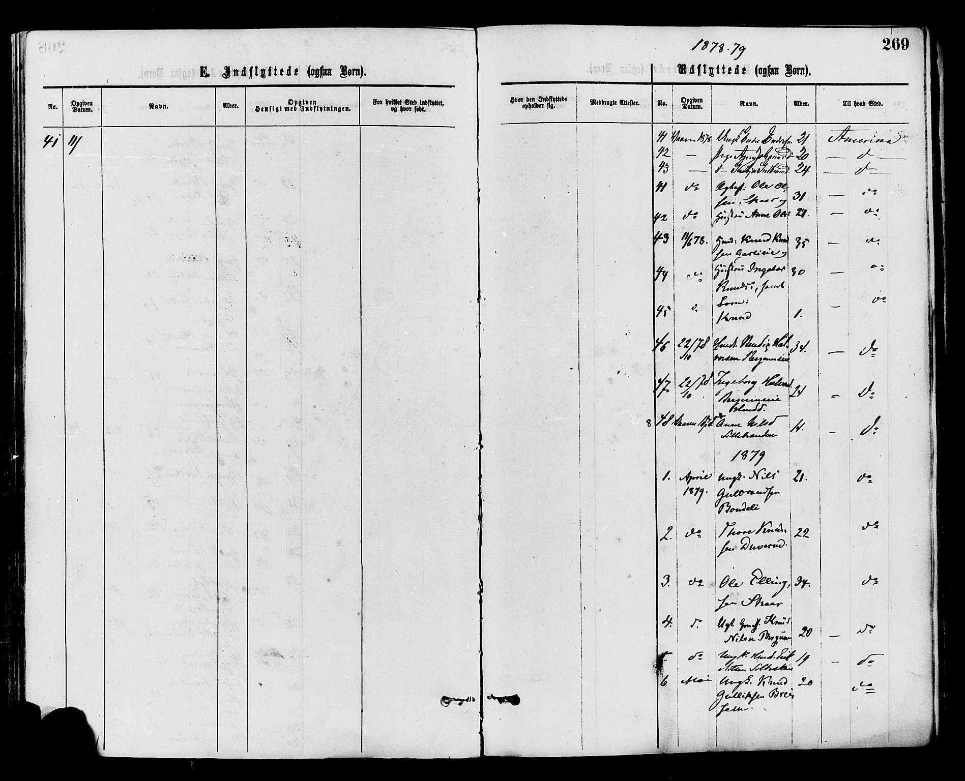 SAH, Nord-Aurdal prestekontor, Ministerialbok nr. 9, 1876-1882, s. 269