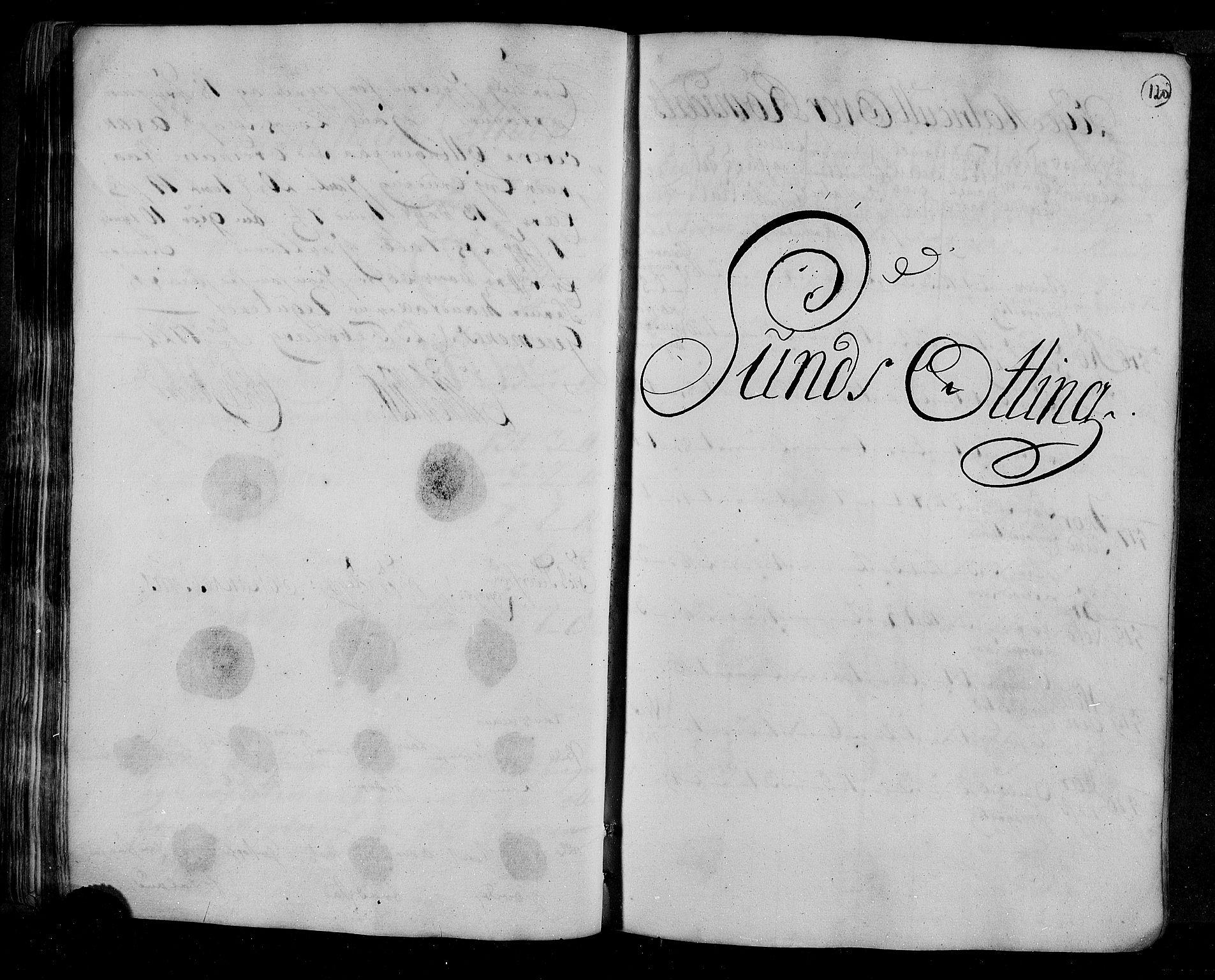 RA, Rentekammeret inntil 1814, Realistisk ordnet avdeling, N/Nb/Nbf/L0153: Romsdal matrikkelprotokoll, 1724, s. 119b-120a