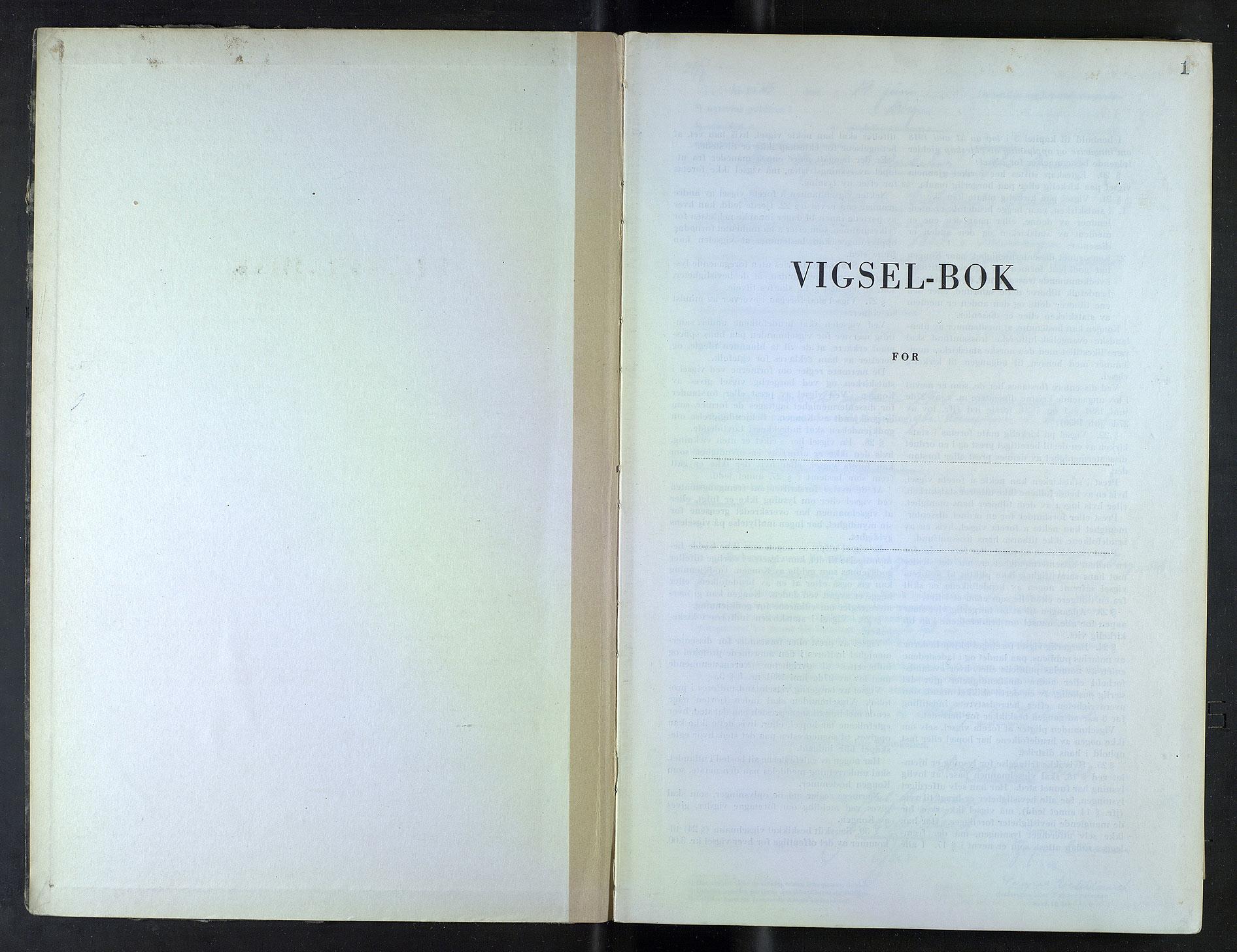 SAB, Byfogd og Byskriver i Bergen, 10/10F/L0036: Vielsesprotokoller, 1945, s. 1