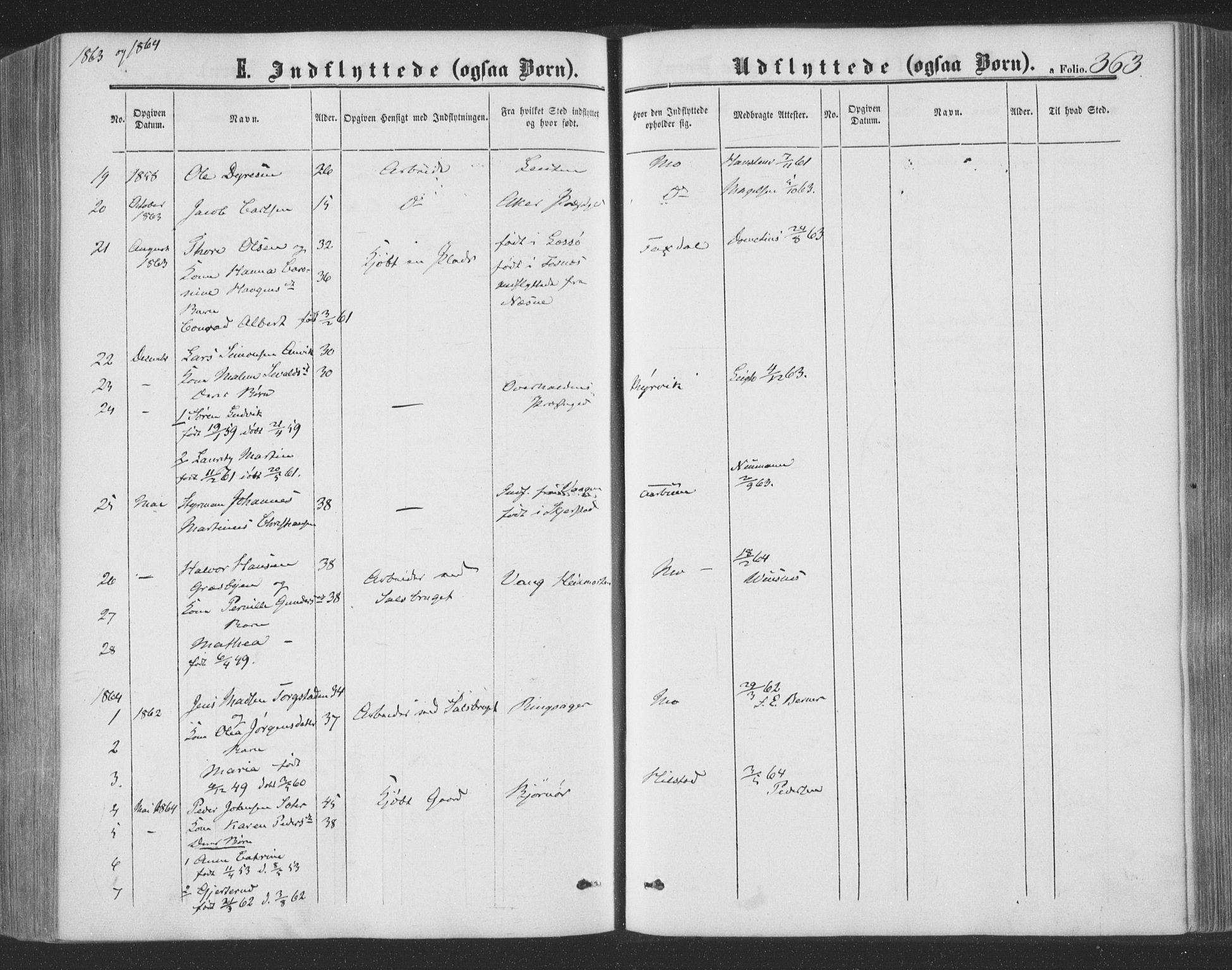 SAT, Ministerialprotokoller, klokkerbøker og fødselsregistre - Nord-Trøndelag, 773/L0615: Ministerialbok nr. 773A06, 1857-1870, s. 363